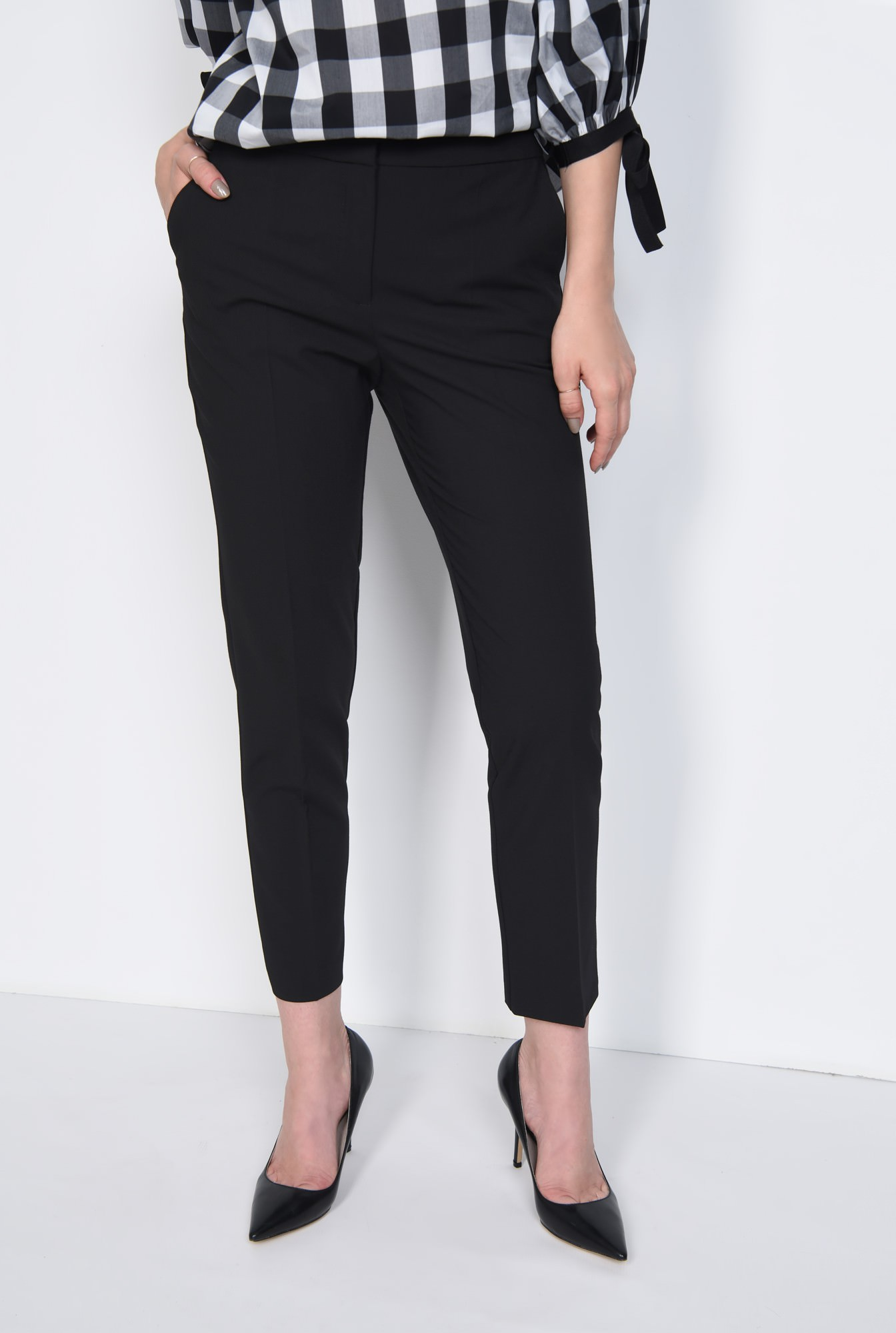 2 - PANTALON OFFICE PT 160-NEGRU