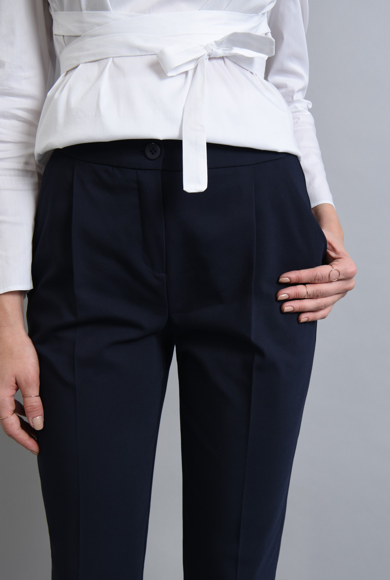 2 - PANTALON OFFICE PT 180-BLEUMARIN
