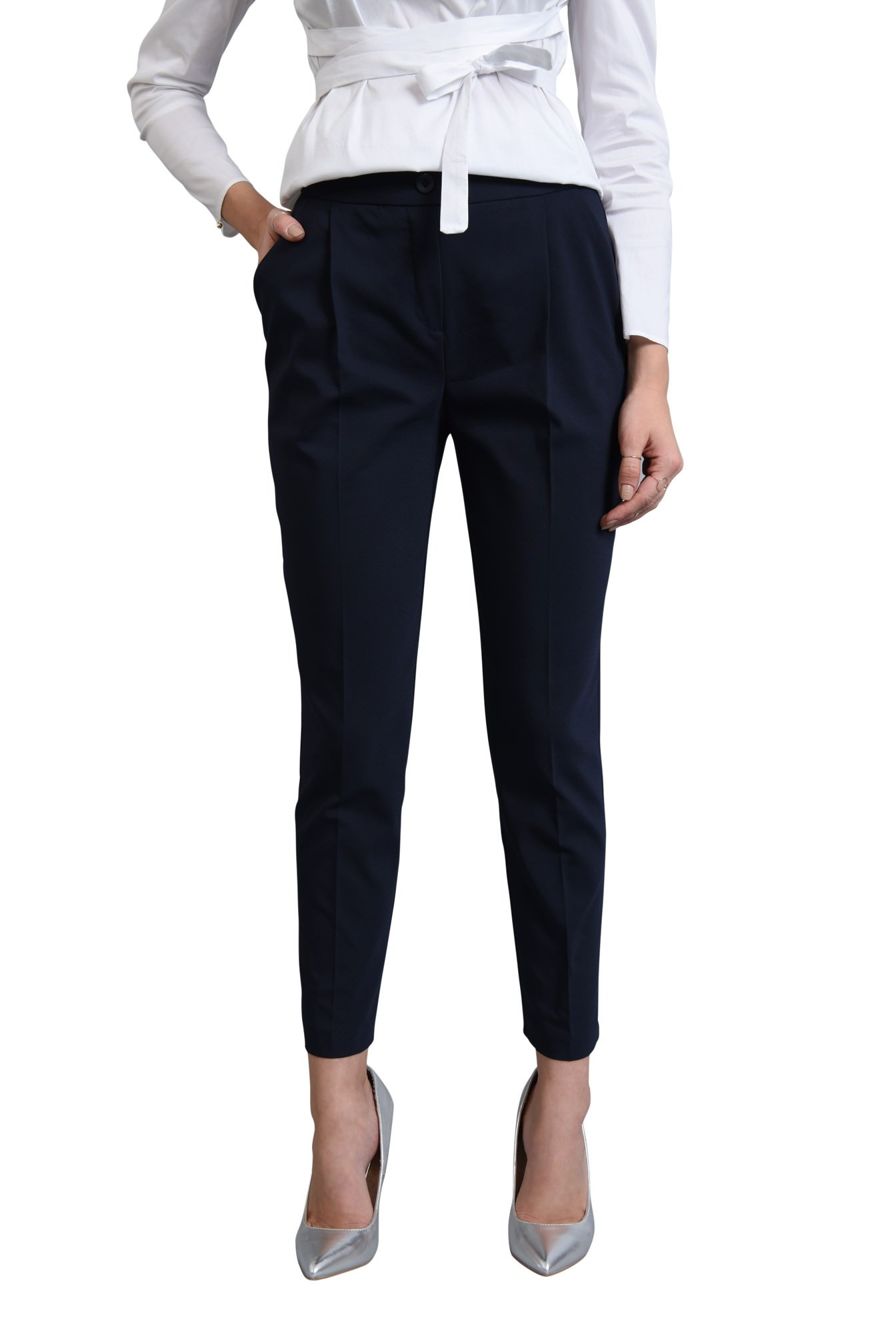 0 - PANTALON OFFICE PT 180-BLEUMARIN