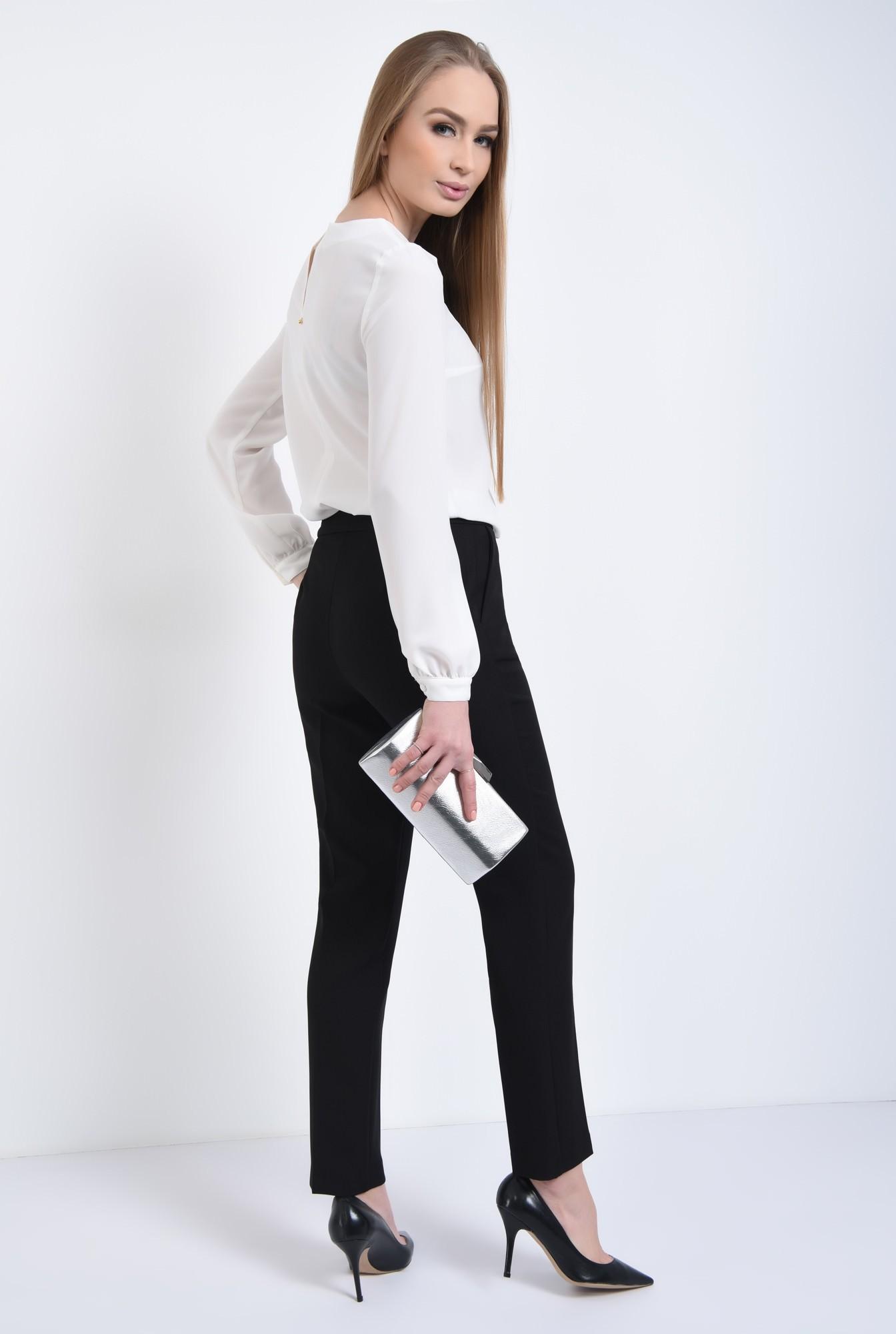 1 - 360 - Pantaloni pana, de birou, lungi, croi tigareta