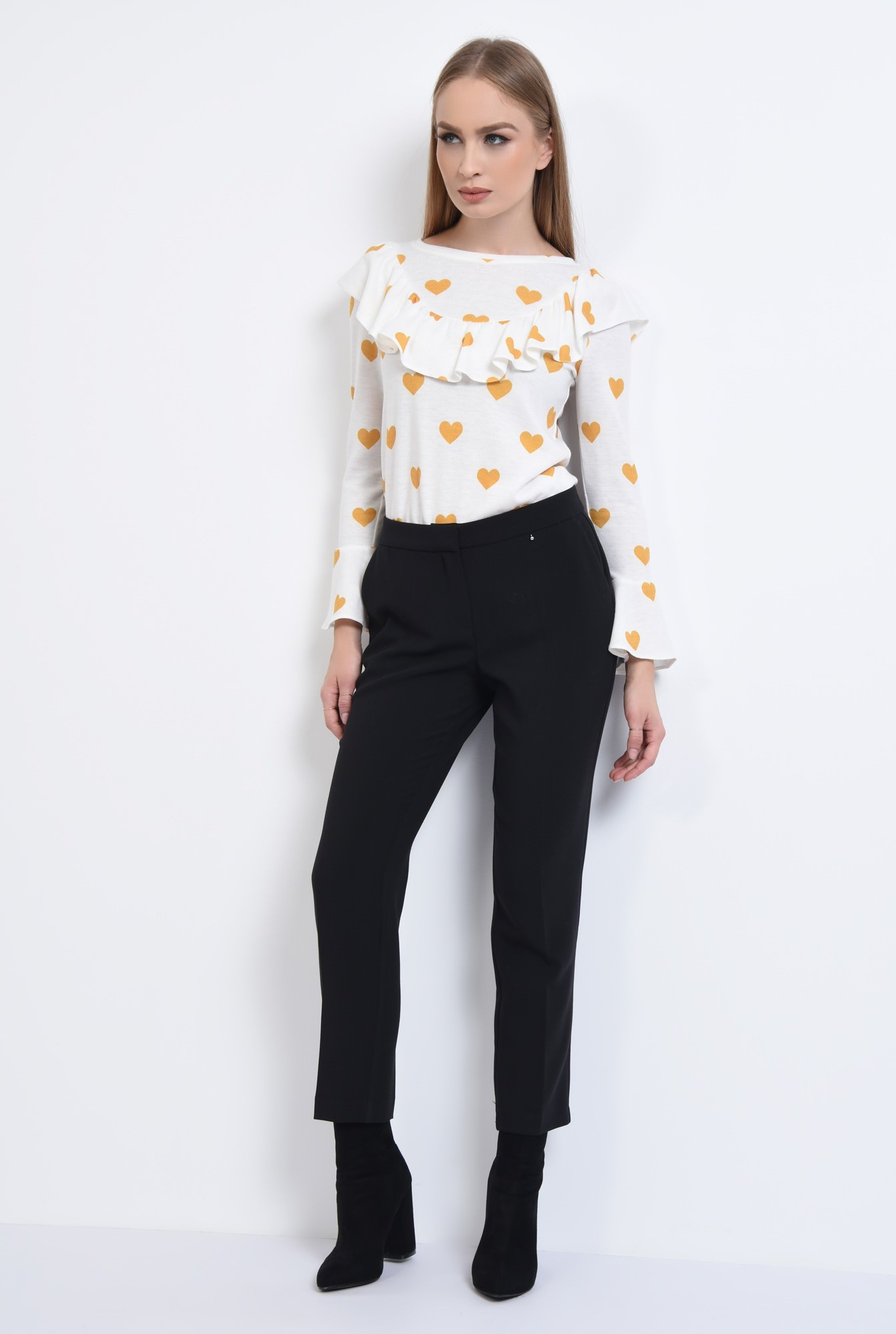 3 - PANTALON OFFICE PT 187-NEGRU