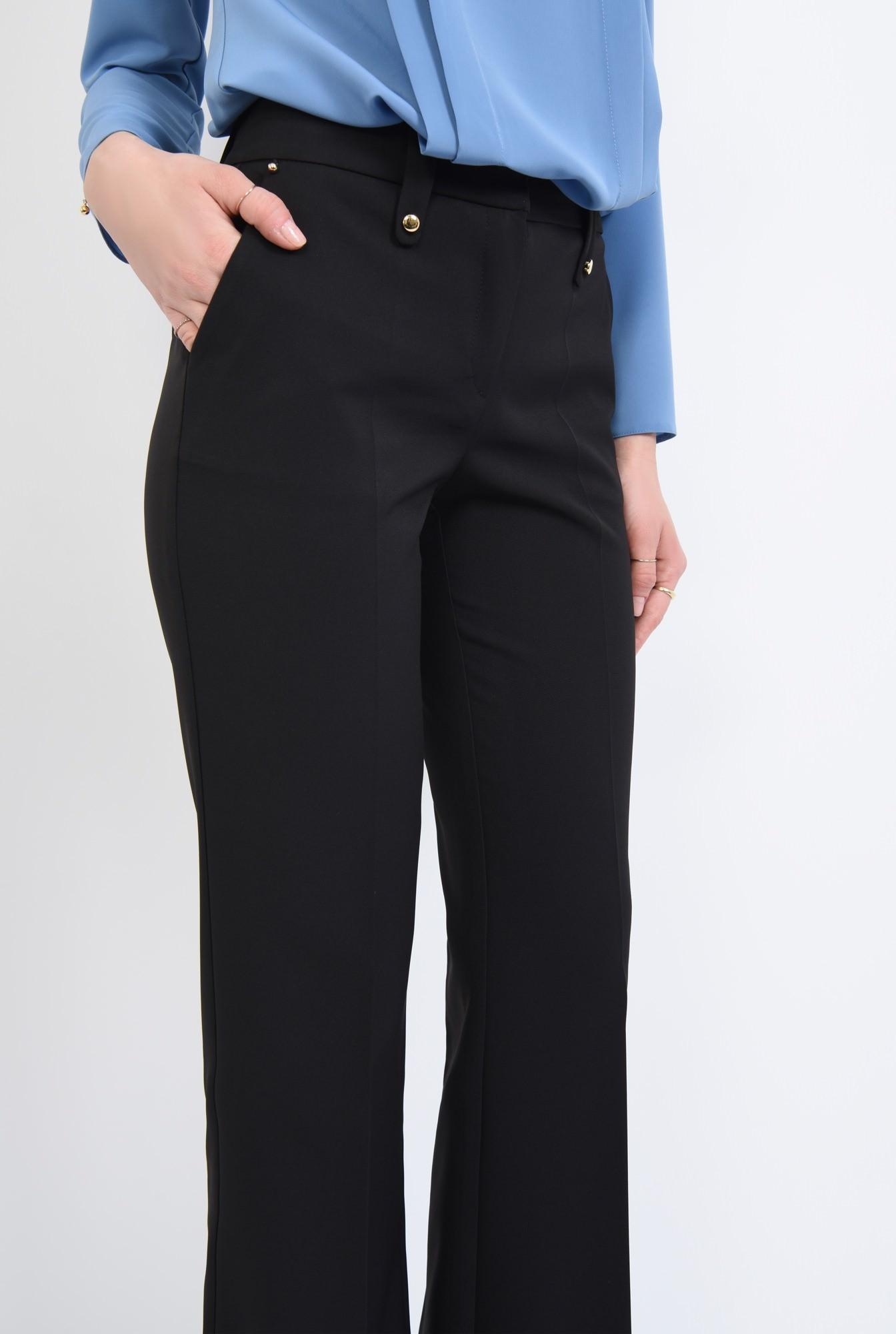 2 - Pantaloni casual, croi drept