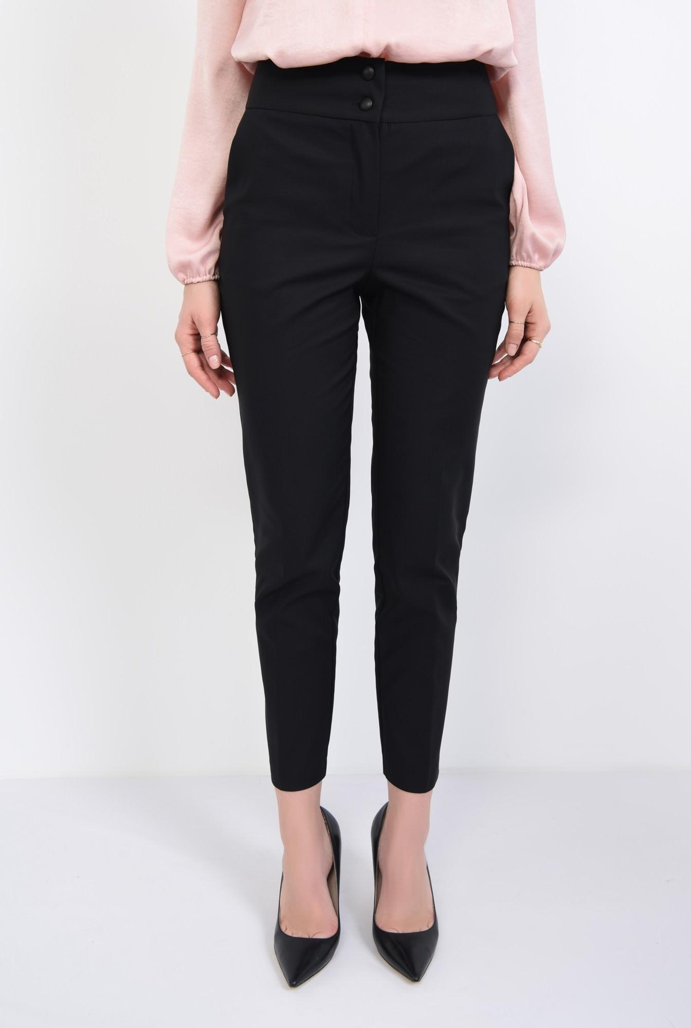 2 - Pantaloni office, negru