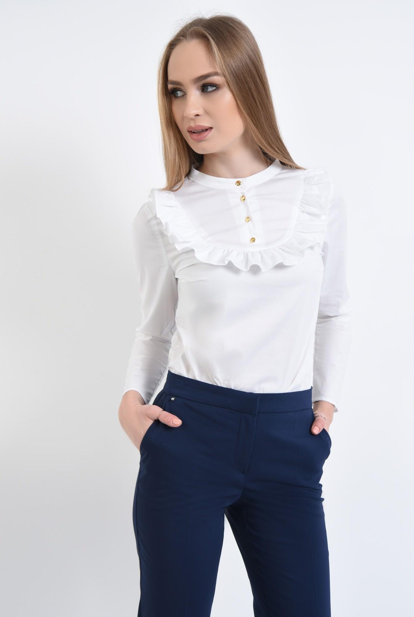 2 - Pantaloni casual, bleumarin