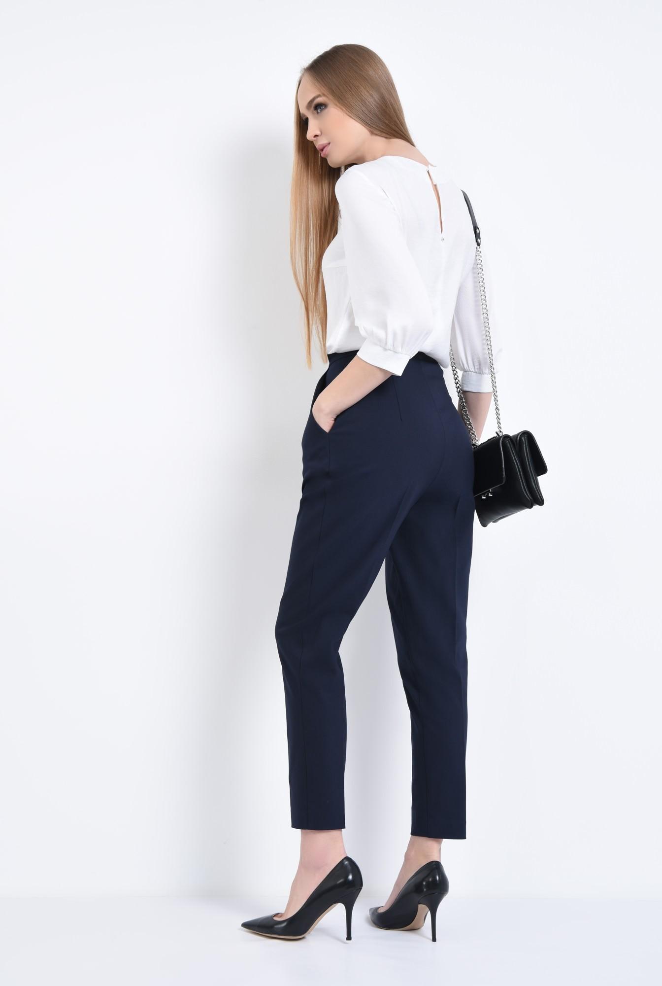 1 - Pantaloni office, clasici, cu pense