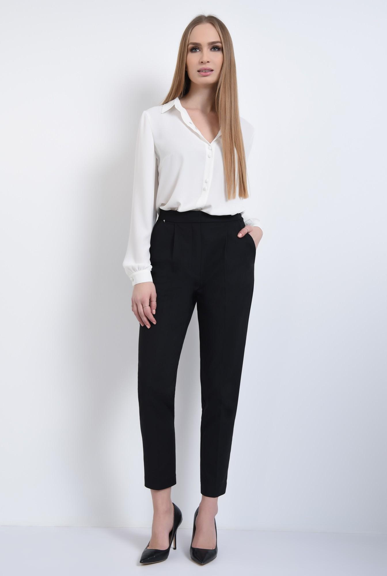 3 - Pantaloni casual, negru