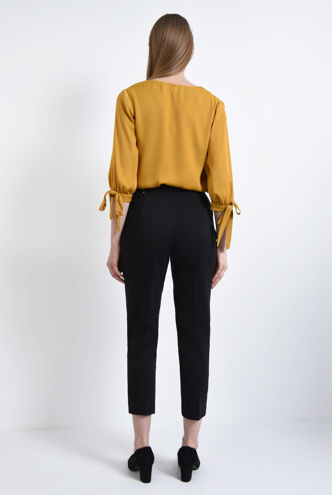 1 - Pantaloni casual, negru