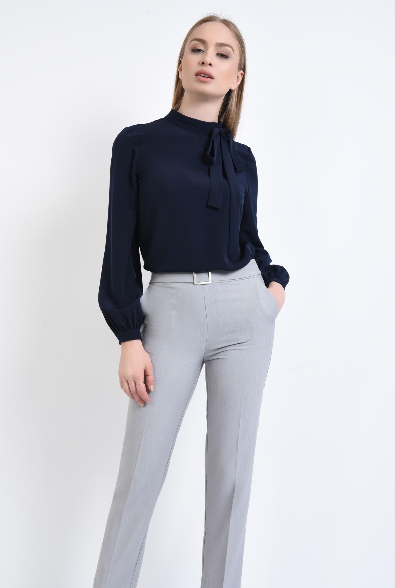 0 - 360 - Pantaloni conici, cu buzunare, betelie