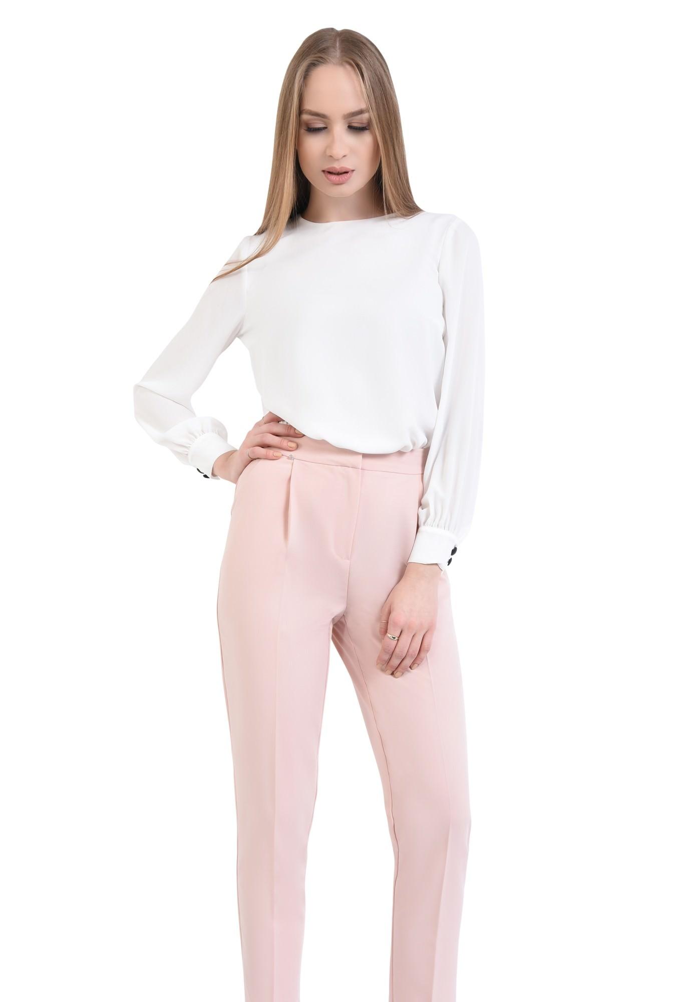 0 - Pantaloni casual, croi conic