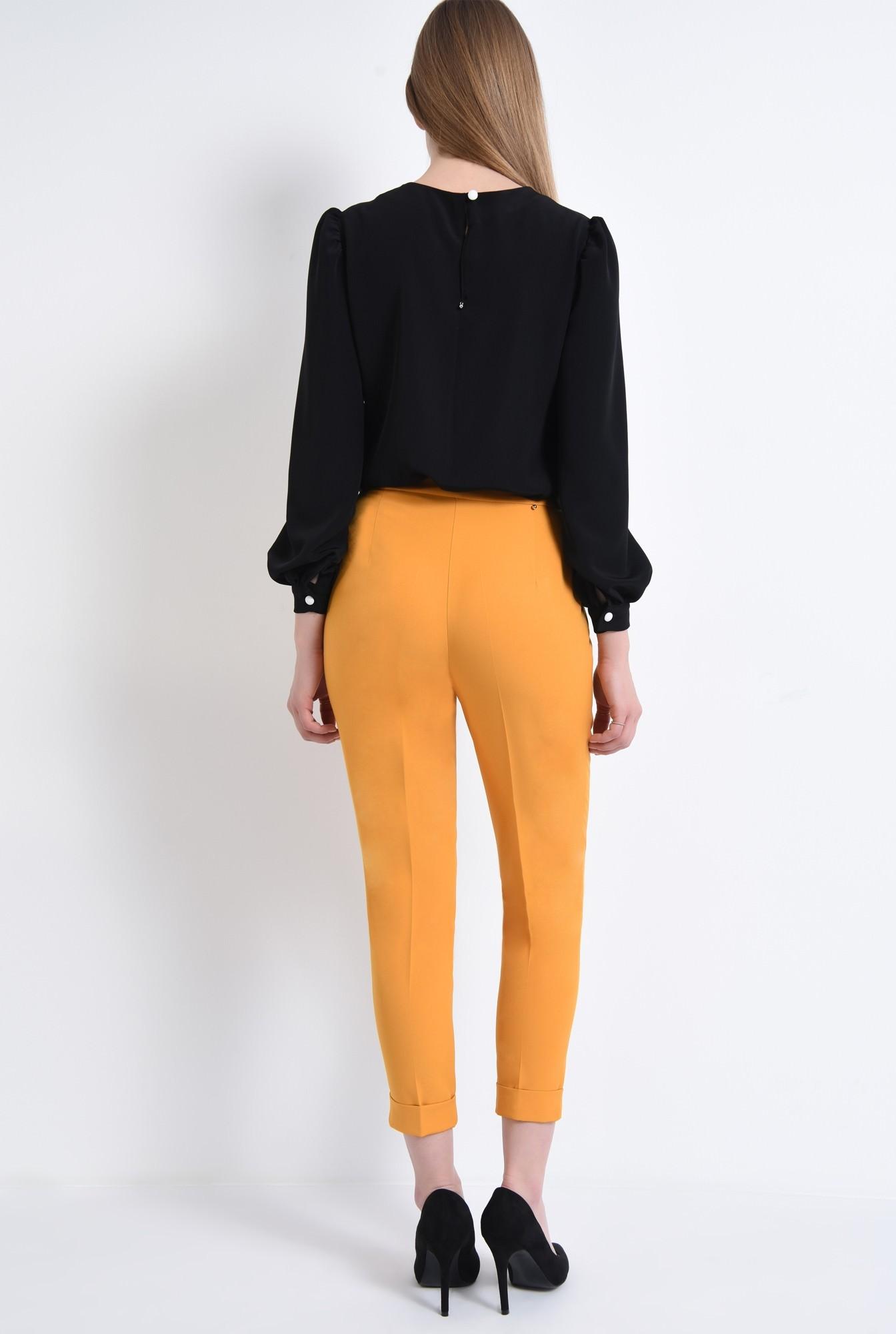 1 - Pantaloni casual, mustar
