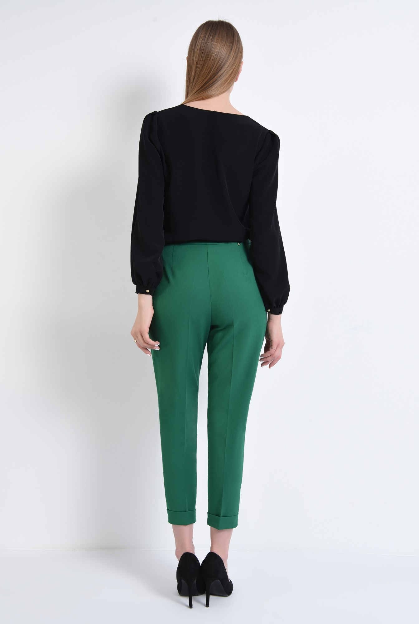 1 - Pantaloni casual, verde