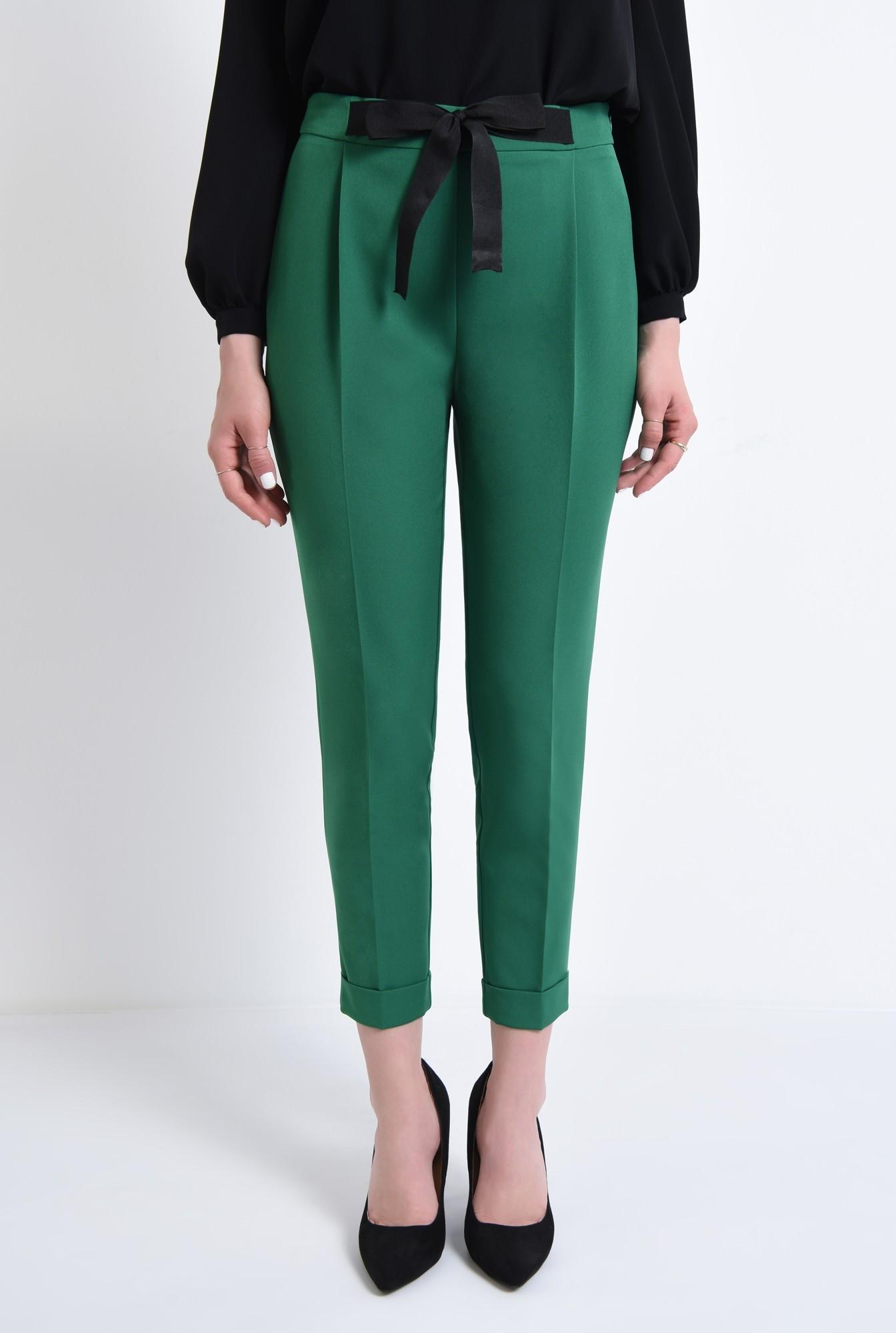 2 - Pantaloni casual, verde