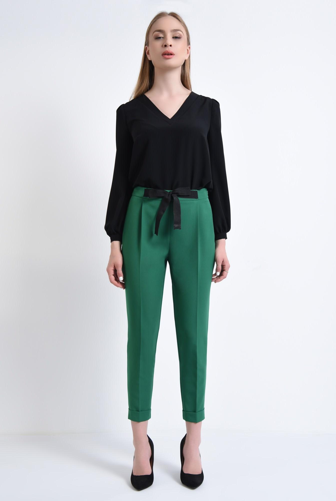 3 - Pantaloni casual, verde
