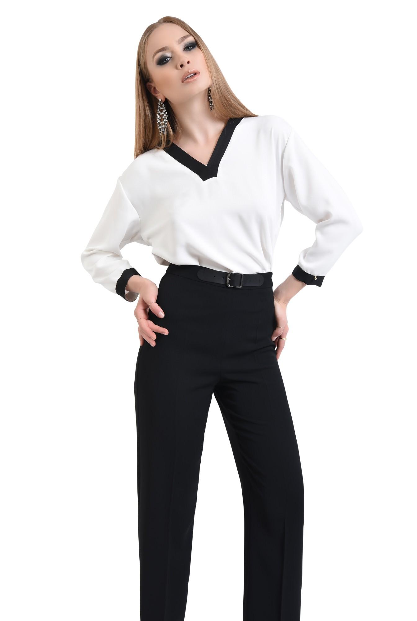 0 - Pantaloni eleganti, negri