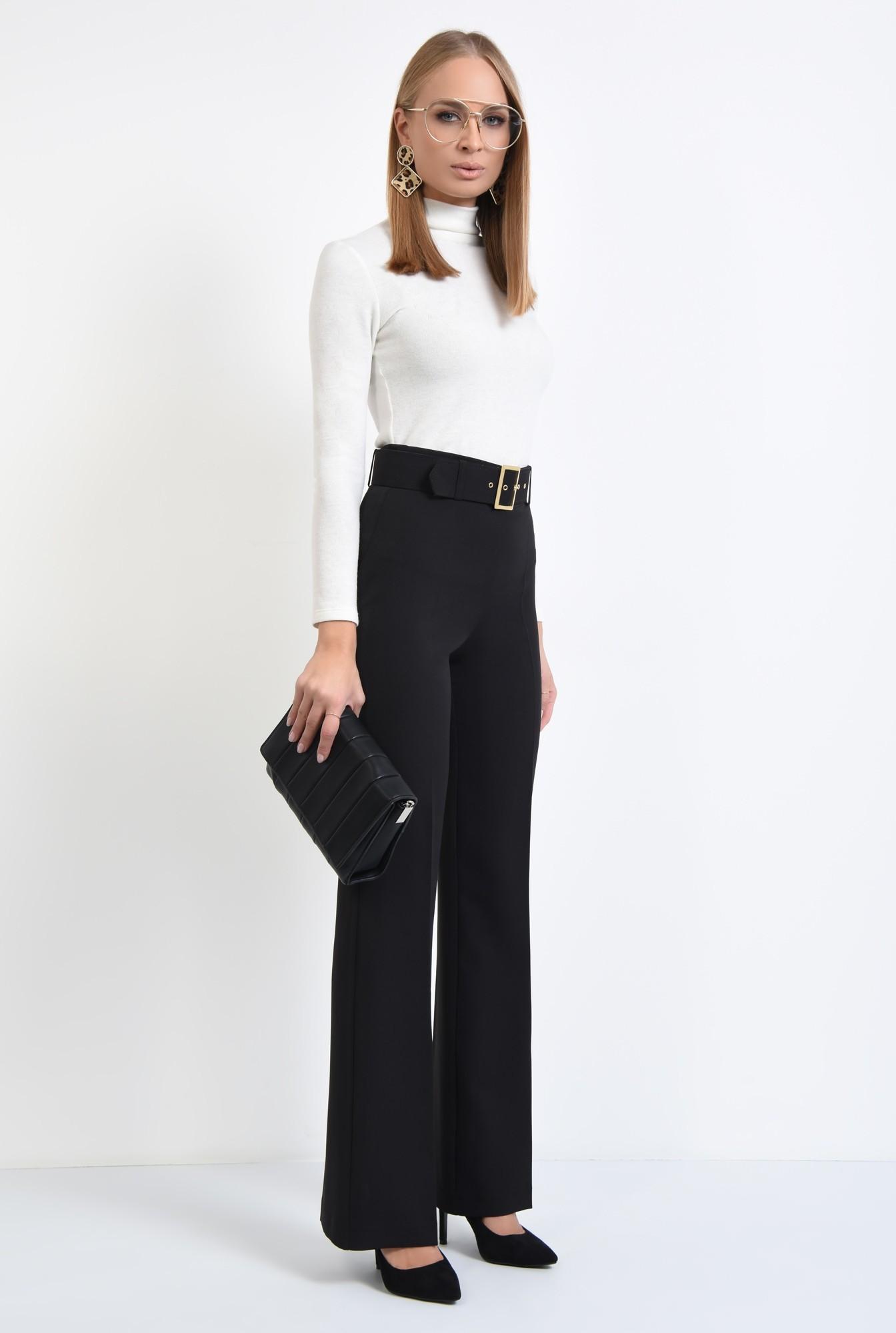 3 - pantaloni de ocazie, centura din material textil, pantaloni online