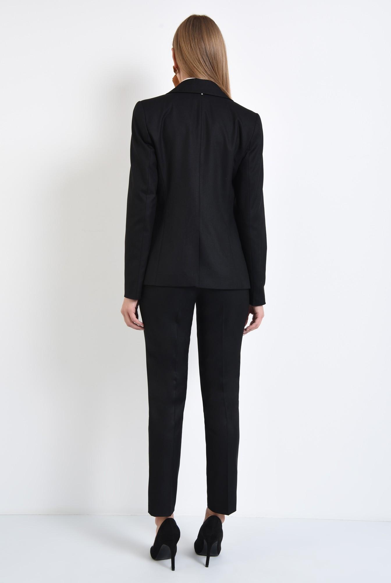 1 - pantaloni tigareta, croi conic, office