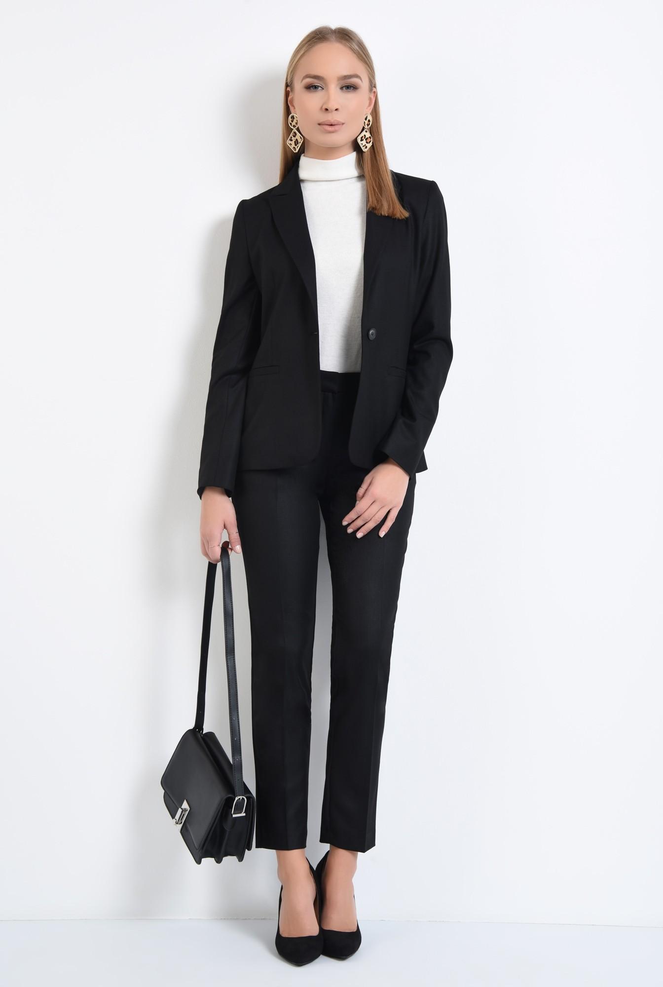 3 - pantaloni tigareta, croi conic, office