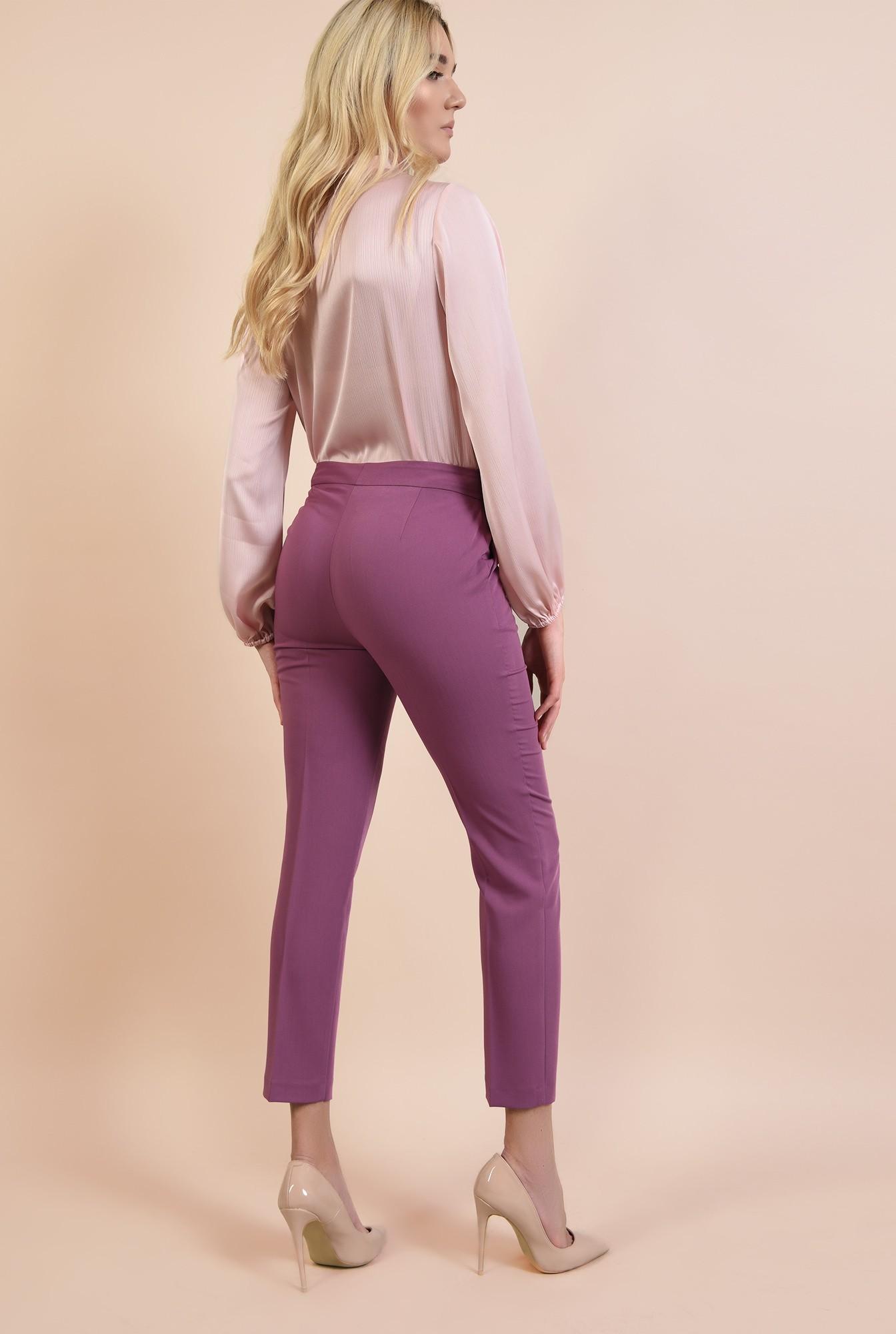1 - pantaloni conici la dunga, office, croi pana, pantaloni dama online, Poema