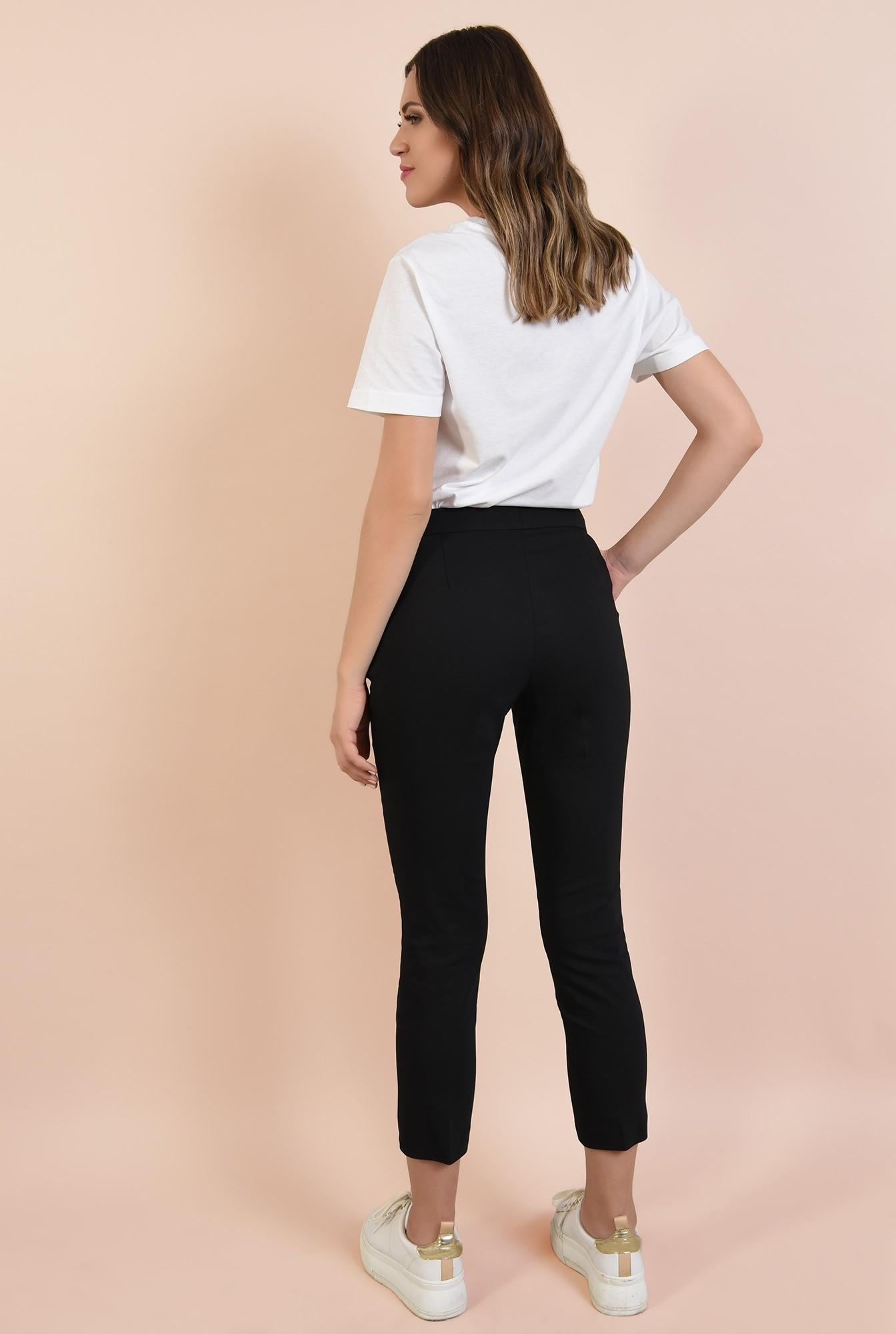 1 - 360 - pantaloni conici, cu buzunare in cusatura, casual, Poema