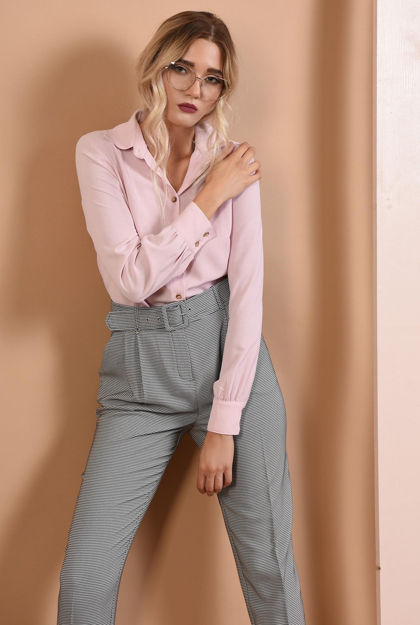 2 - 360 - pantaloni de toamna, imprimeu, curea, buzunare functionale