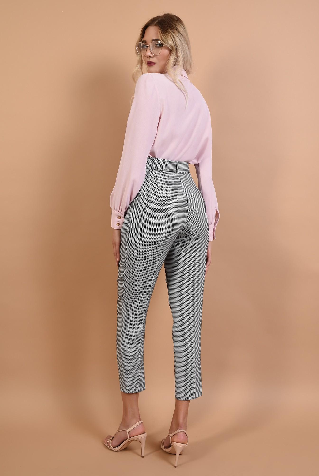 1 - 360 - pantaloni de toamna, imprimeu, curea, buzunare functionale
