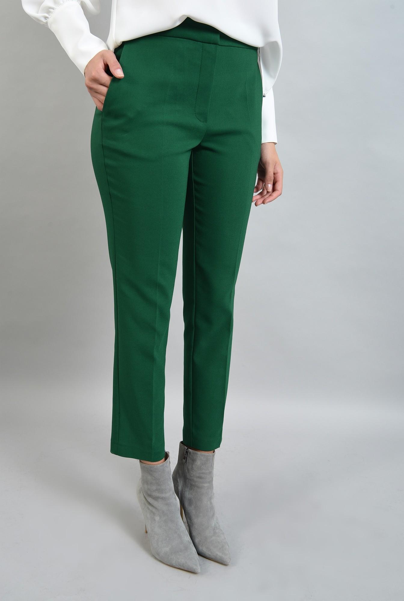 1 - pantaloni verzi, croi conic, Poema