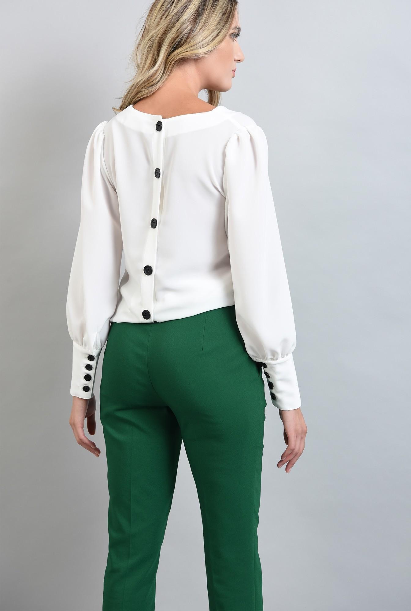 2 - pantaloni verzi, croi conic, Poema