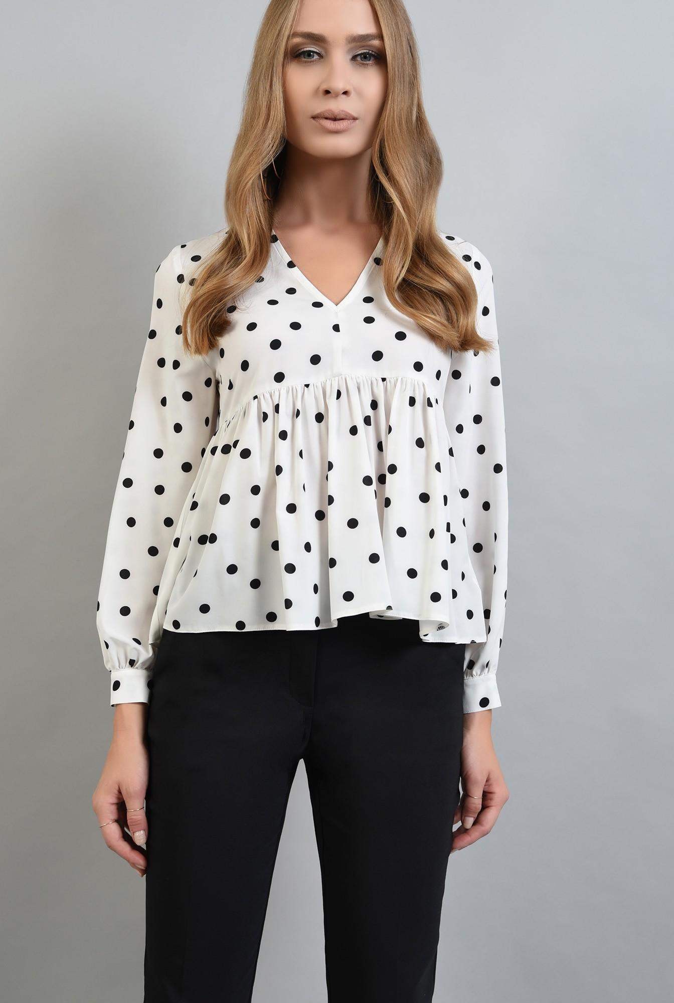 1 - 360 - pantaloni negri conici, cu buzunare laterale