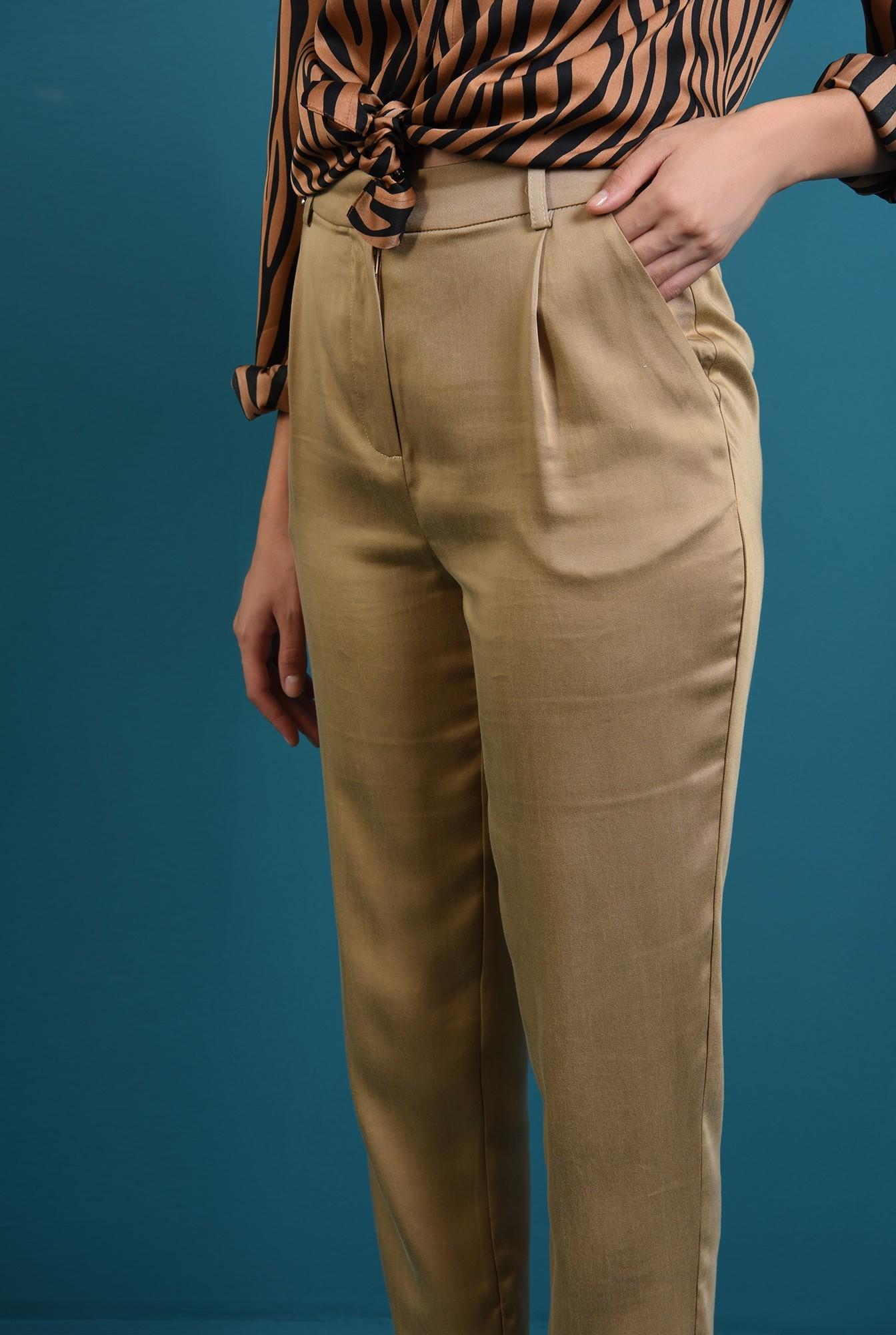 2 - 360 - pantaloni tigareta bej, Poema