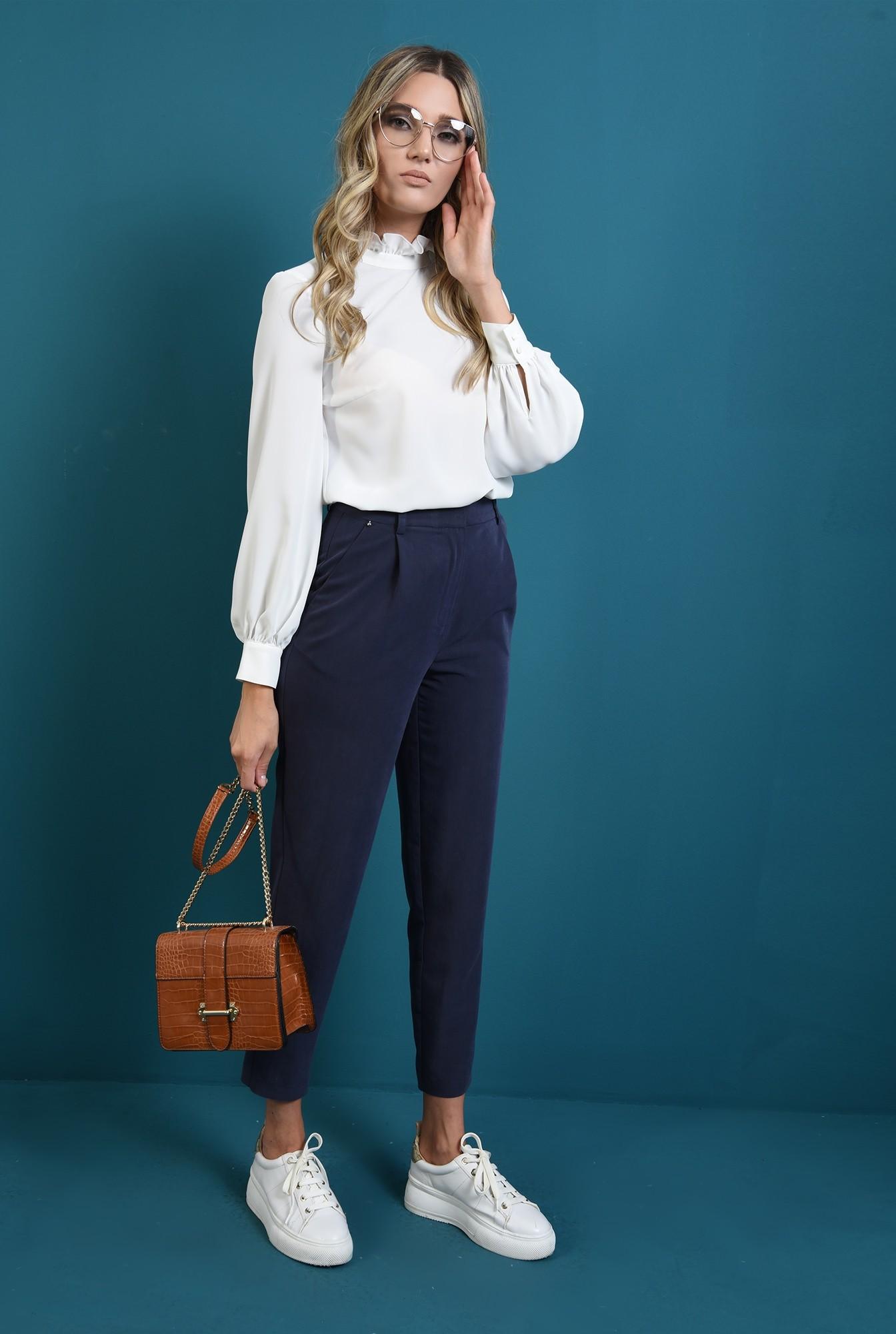1 - pantaloni cu buzunare laterale, tigareta