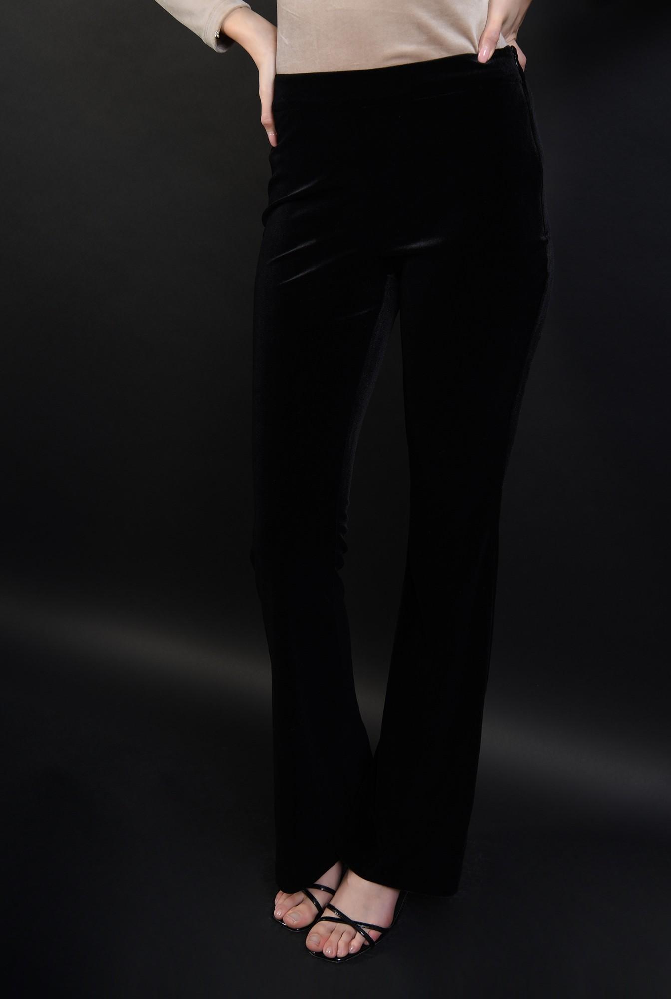3 - 360 - pantaloni eleganti, din catifea, Poema