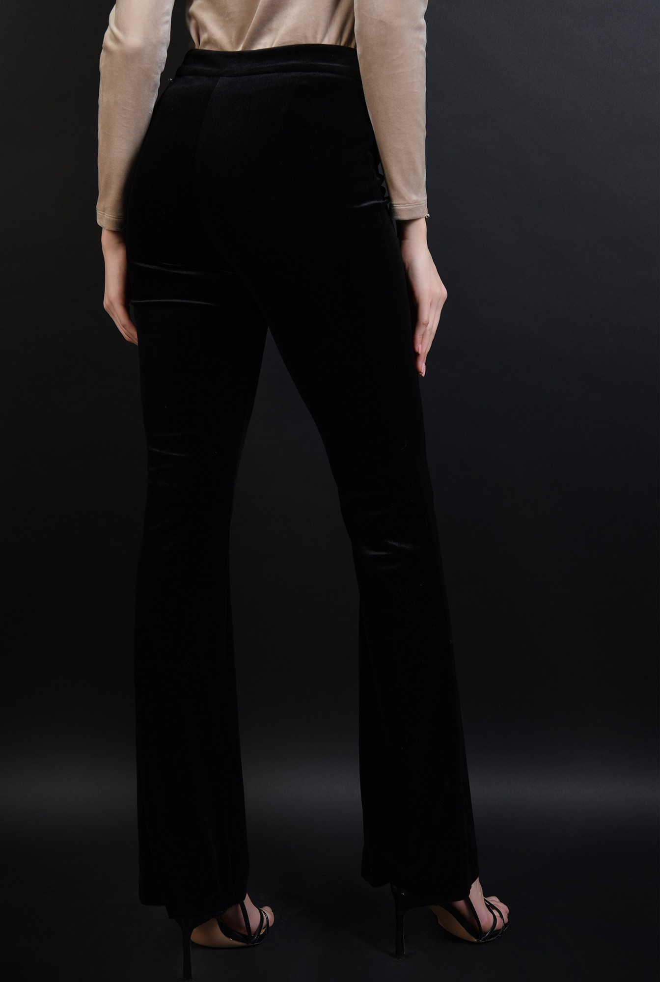 2 - 360 - pantaloni eleganti, din catifea, Poema