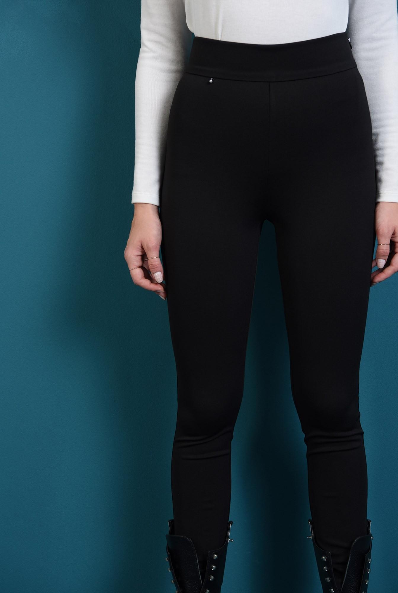 2 - pantaloni negri, mulati, conici, Poema
