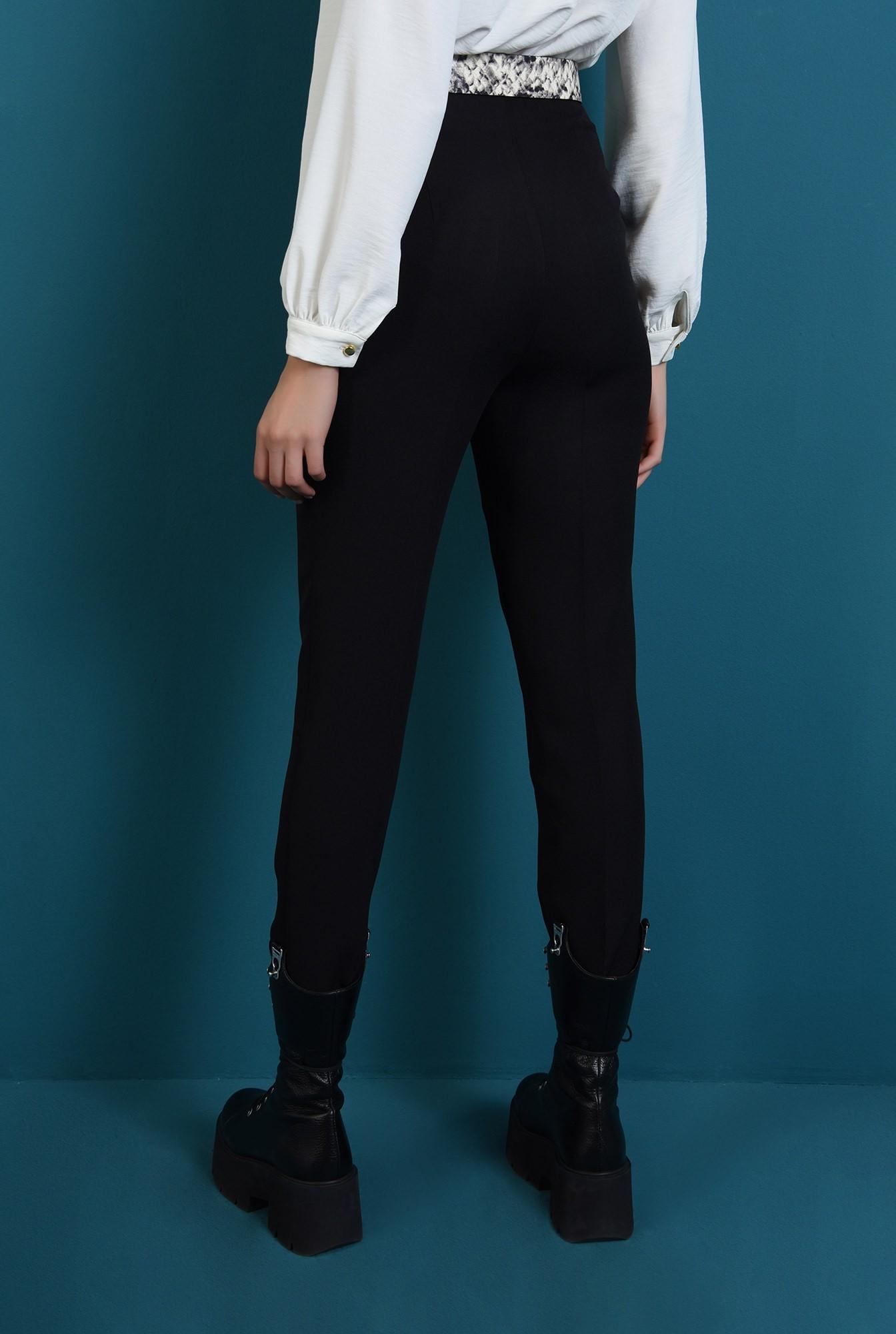 1 - pantaloni negri, conici, cu talie inalta, Poema
