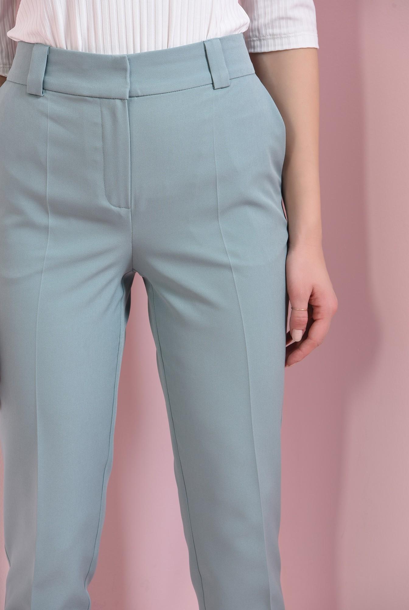 2 - pantaloni menta, conici, Poema