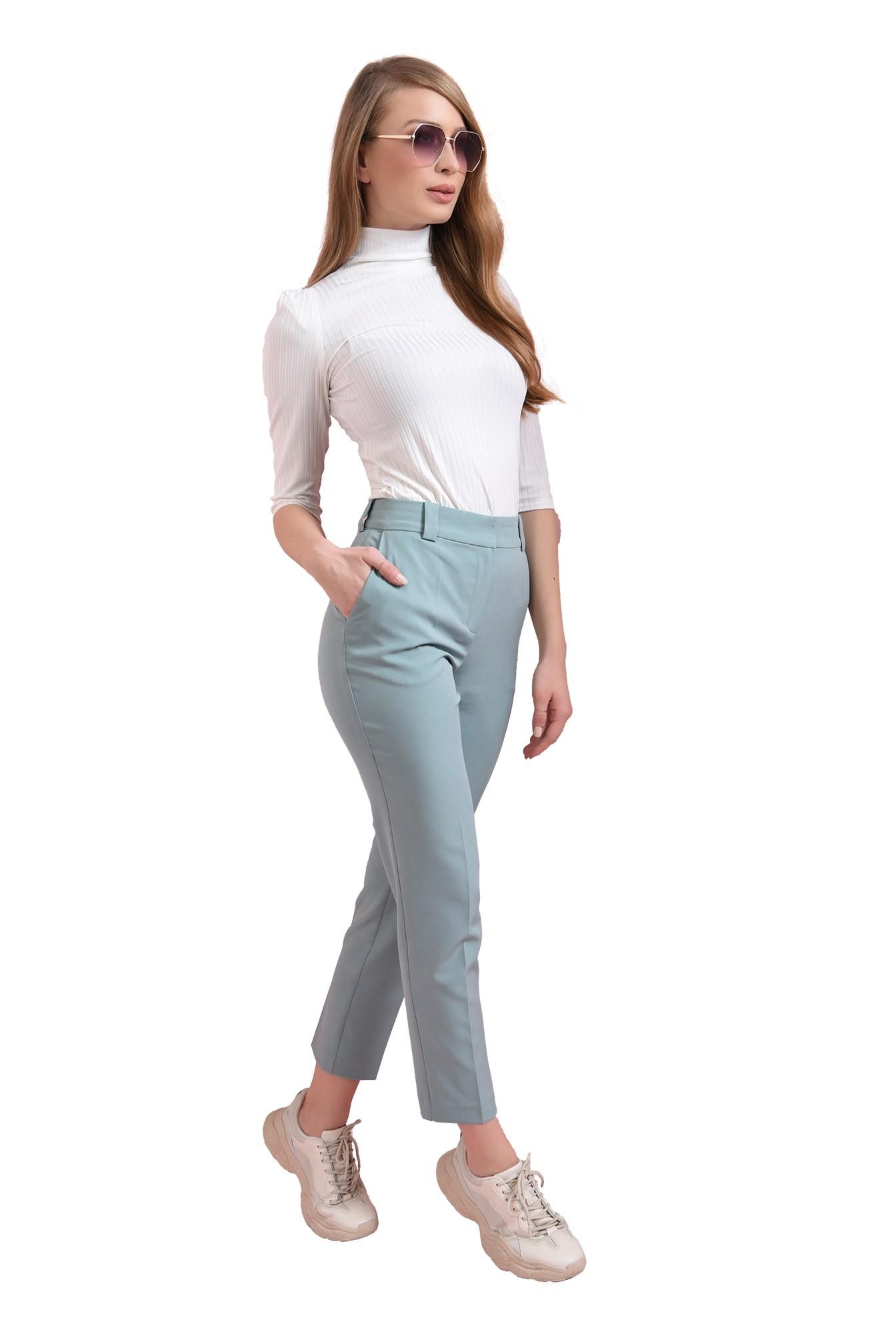 3 - pantaloni menta, conici, Poema