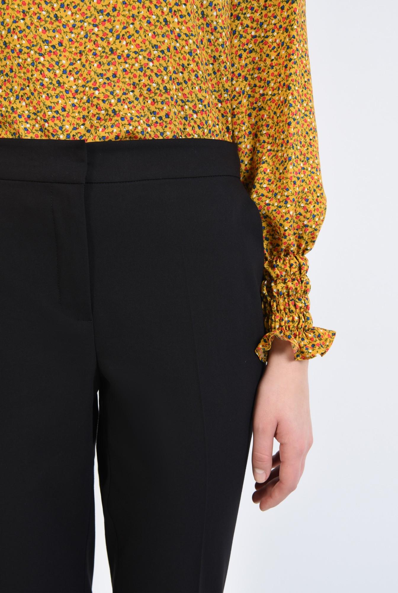 2 - pantaloni de birou, conici, cu buzunare, betelie