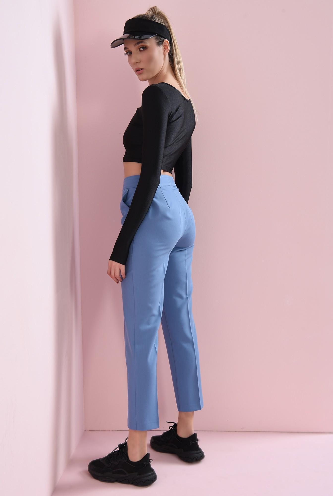 1 - pantaloni cu buzunare laterale, conici