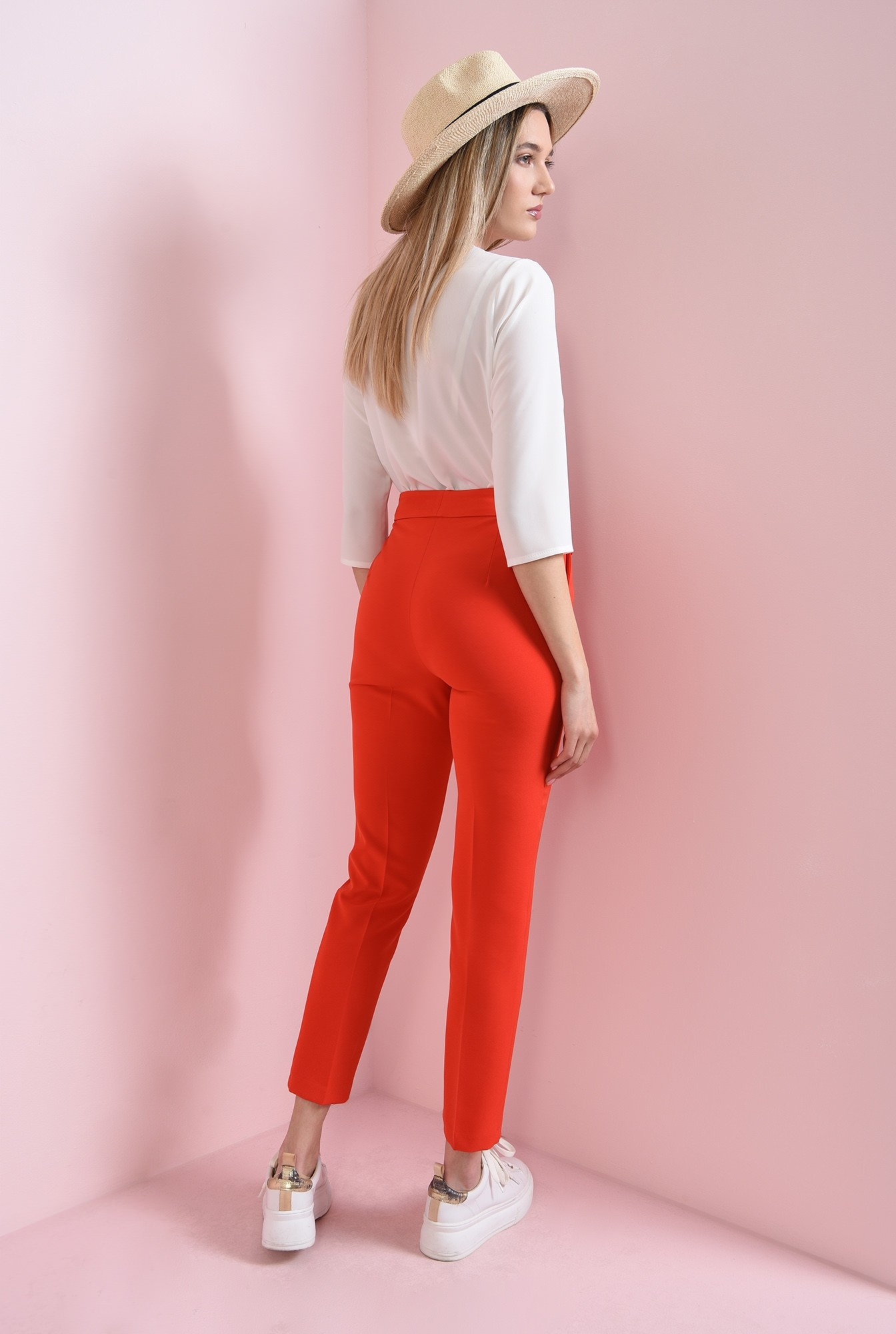 1 - pantaloni casual, conici, Poema
