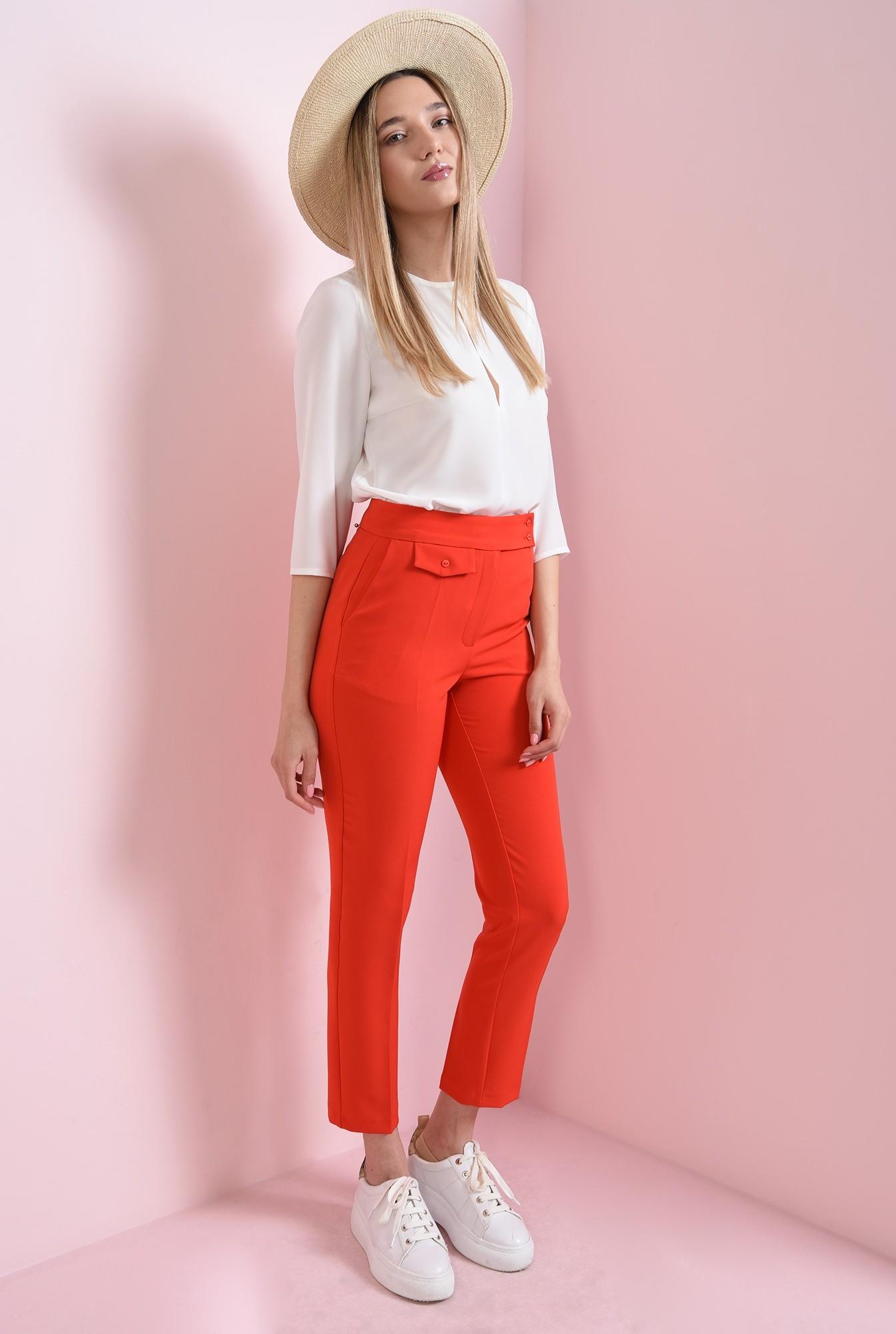 0 - pantaloni casual, conici, Poema
