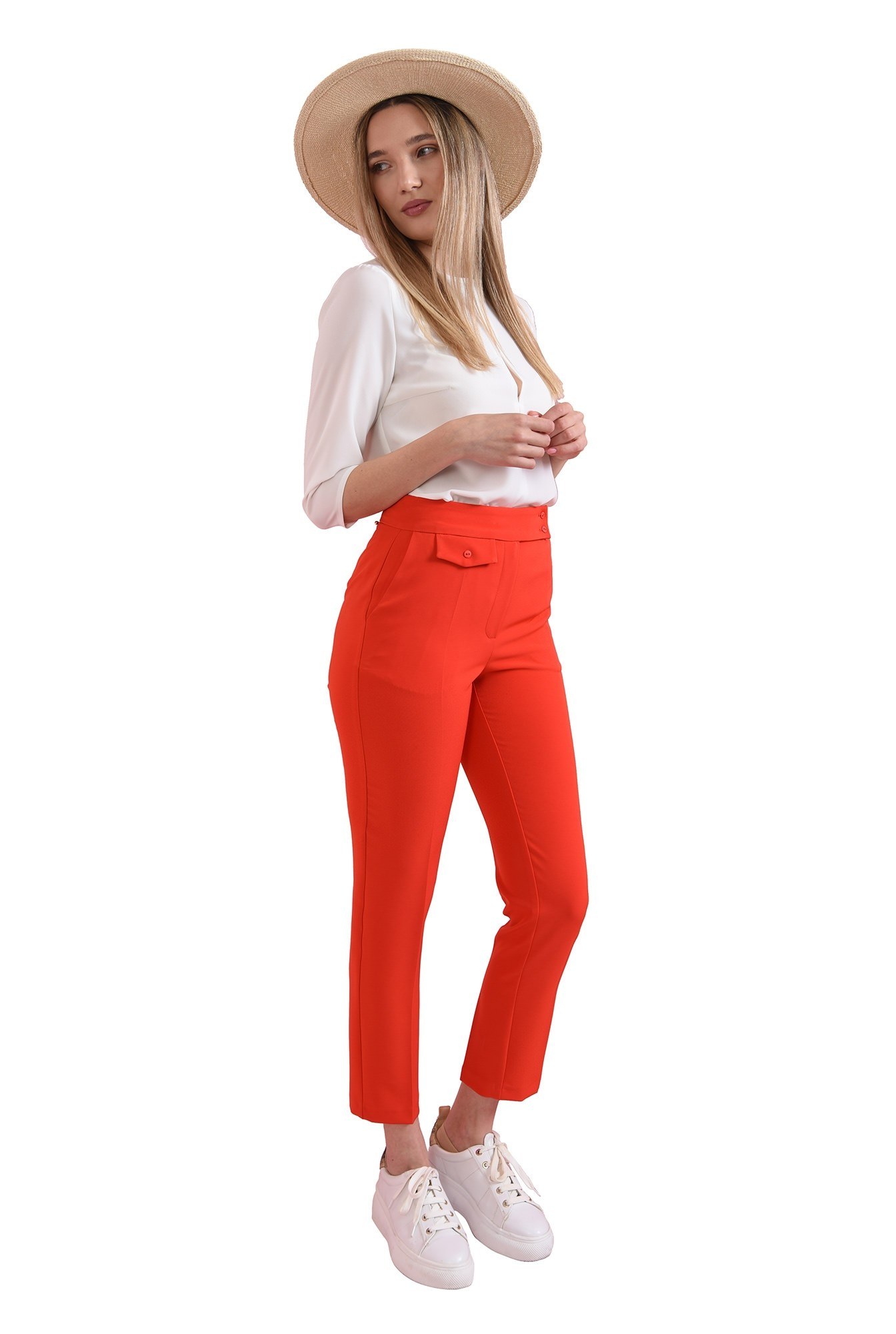 3 - pantaloni casual, conici, Poema