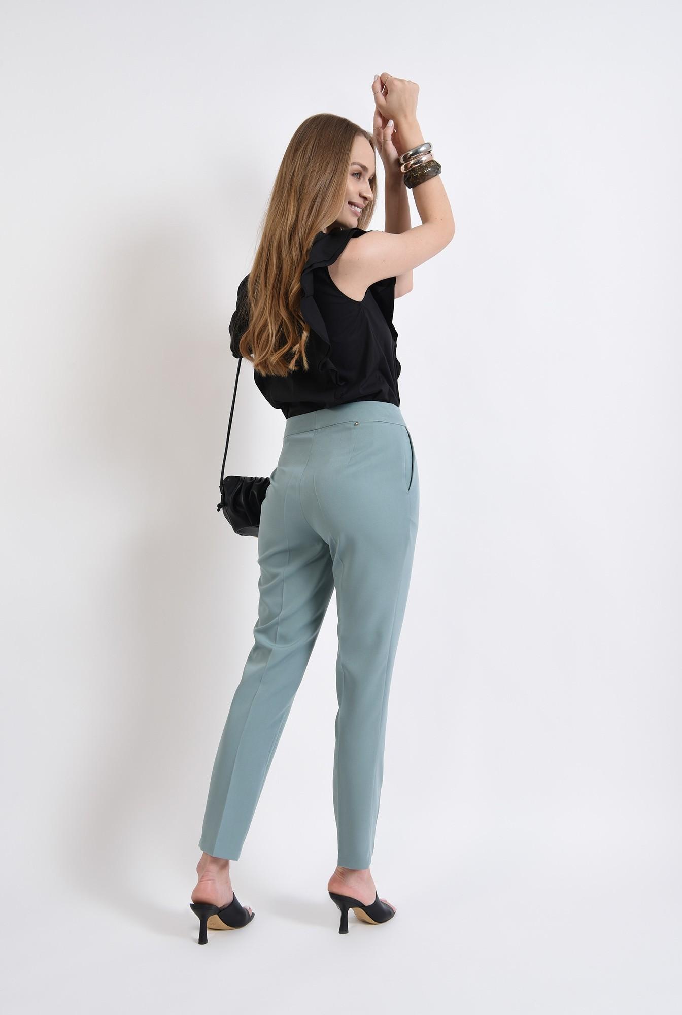 2 - pantaloni mint, casual, Poema