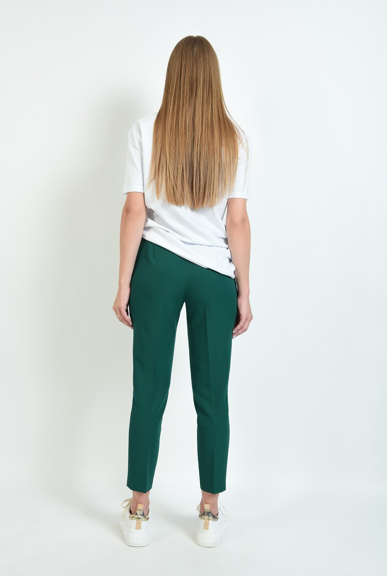 1 - pantaloni lungi, conici, cu buzunare laterale