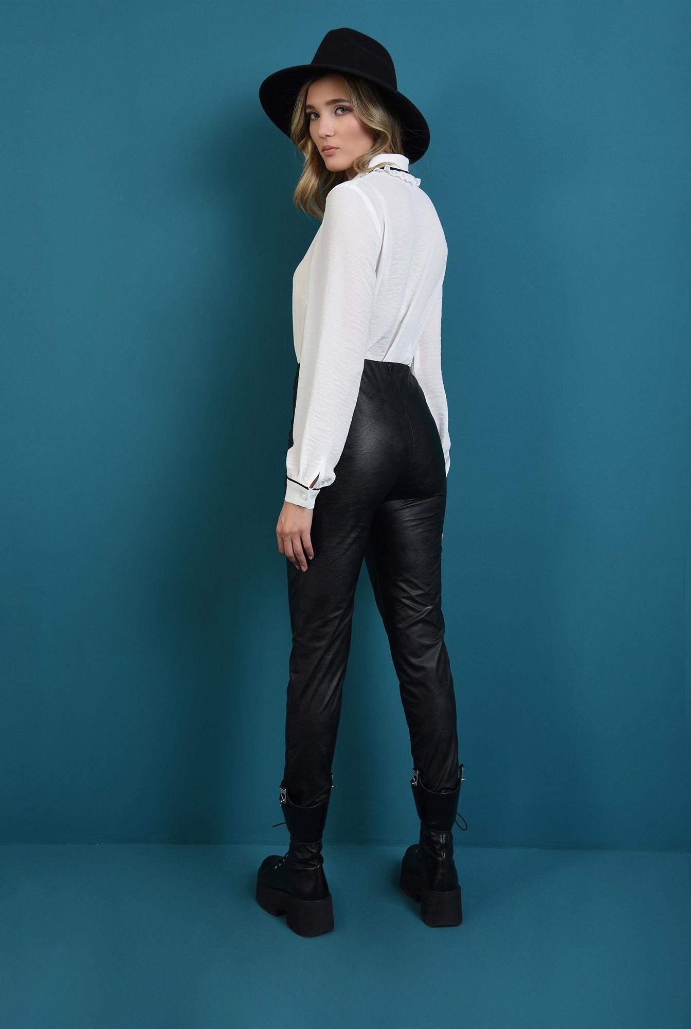 1 - pantaloni negri, cu talie medie, conici, Poema