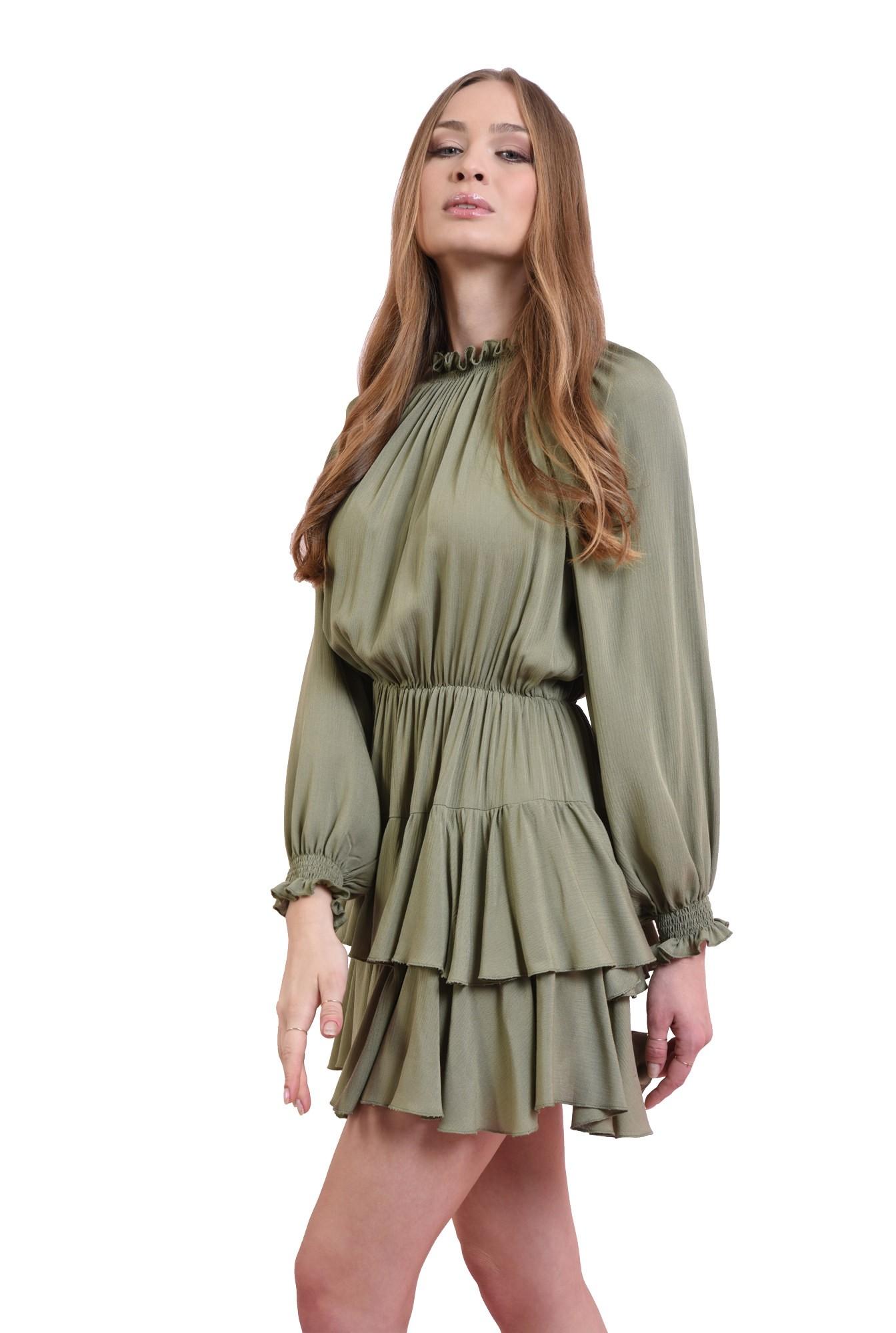 3 - rochie mini, din paza topita