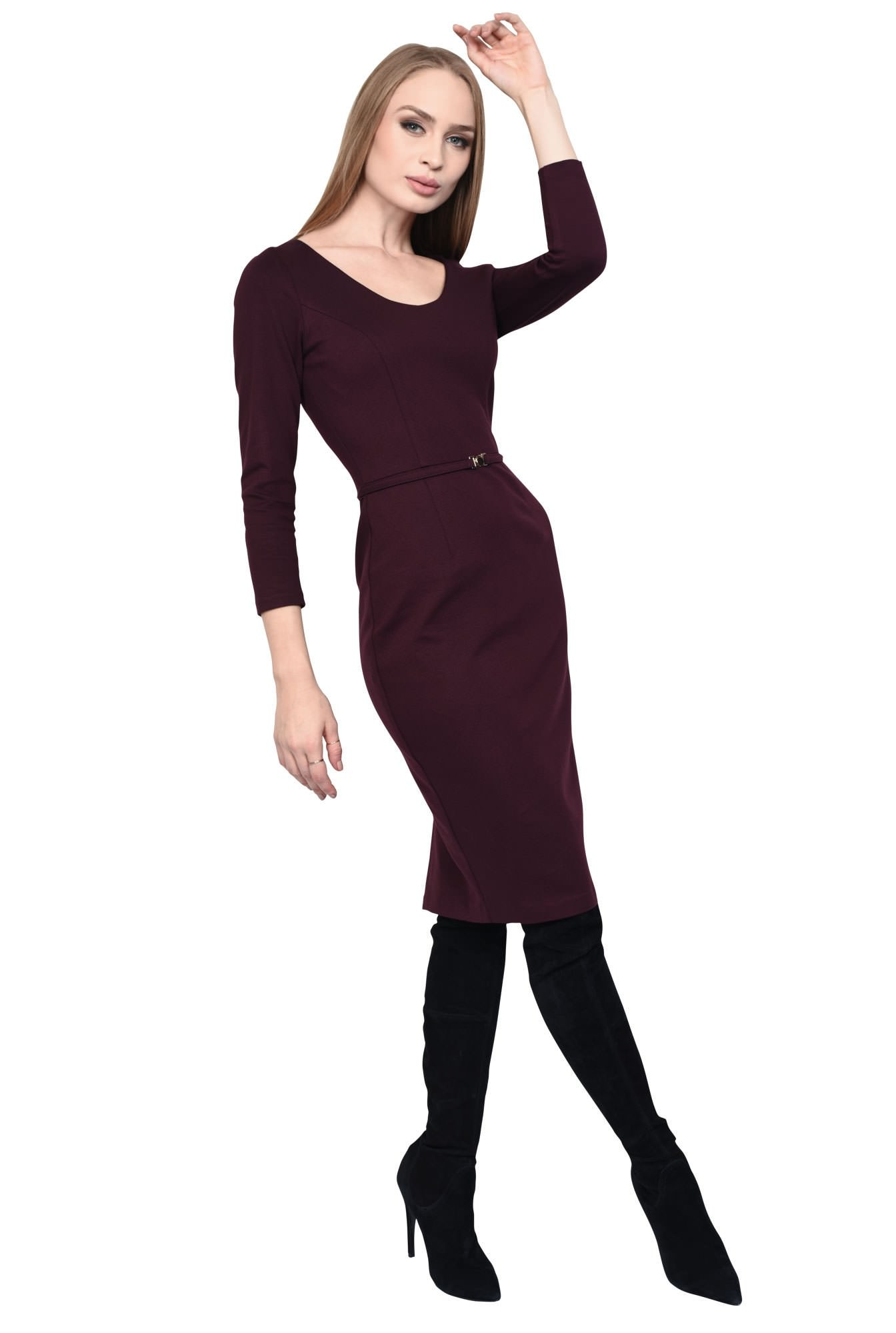 0 - ROCHIE OFFICE CONICA R 176-BURGUNDY