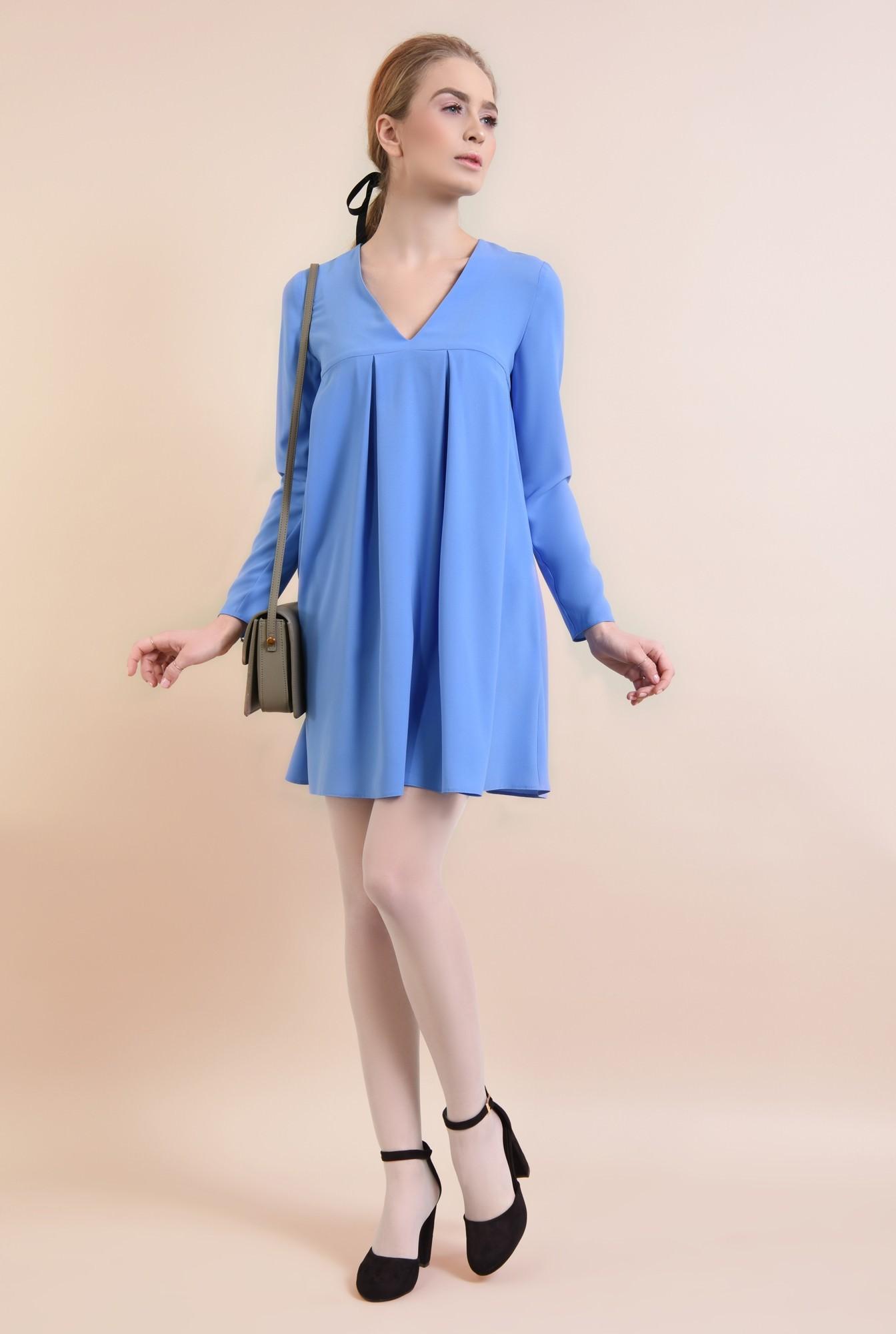 3 - Rochie casual, bleu
