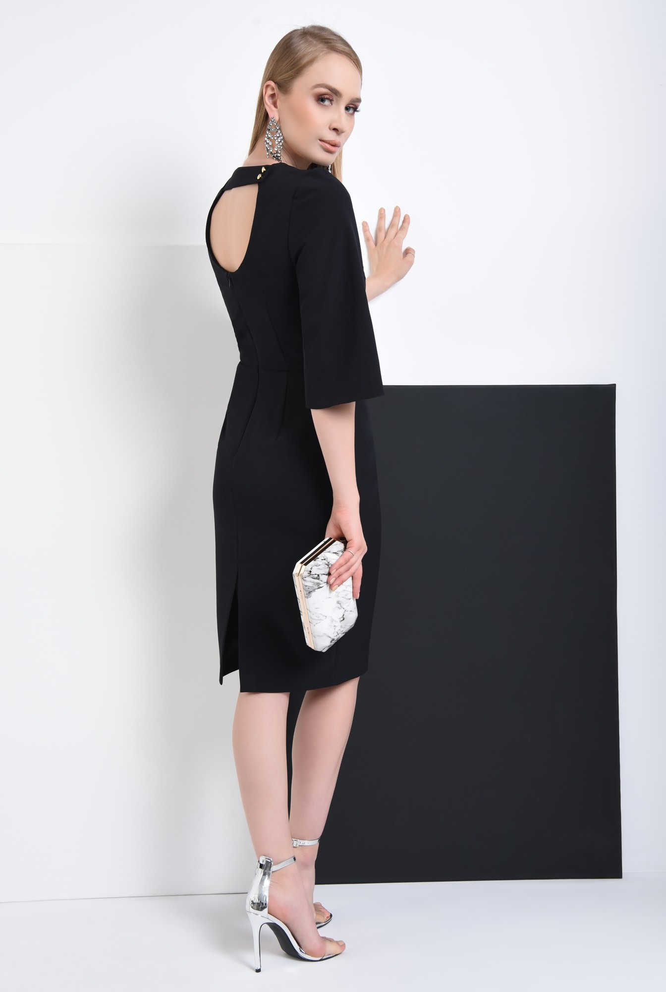 1 - Rochie eleganta neagra