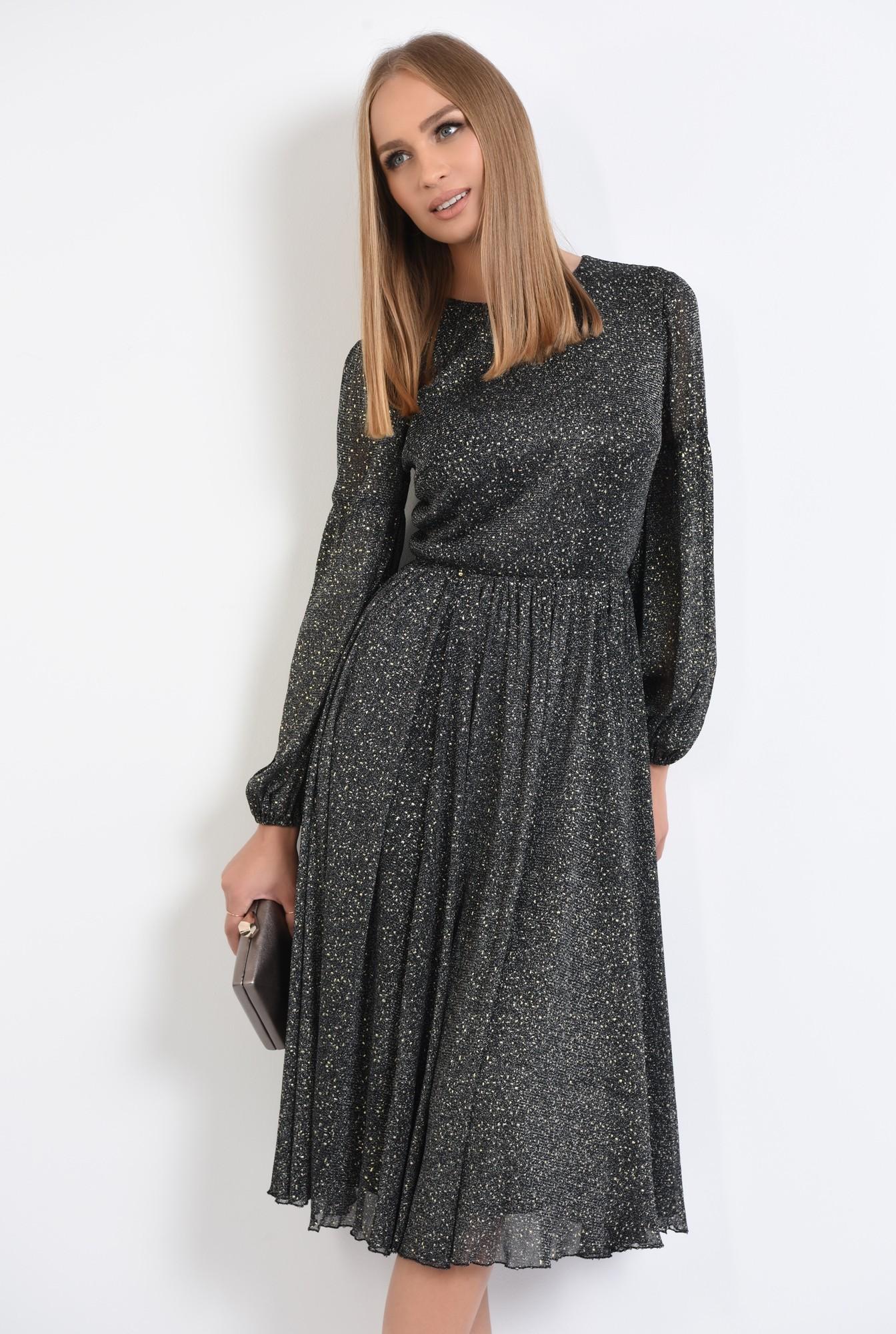 2 - rochie de seara, detalii aurii, rochii online, croi clos