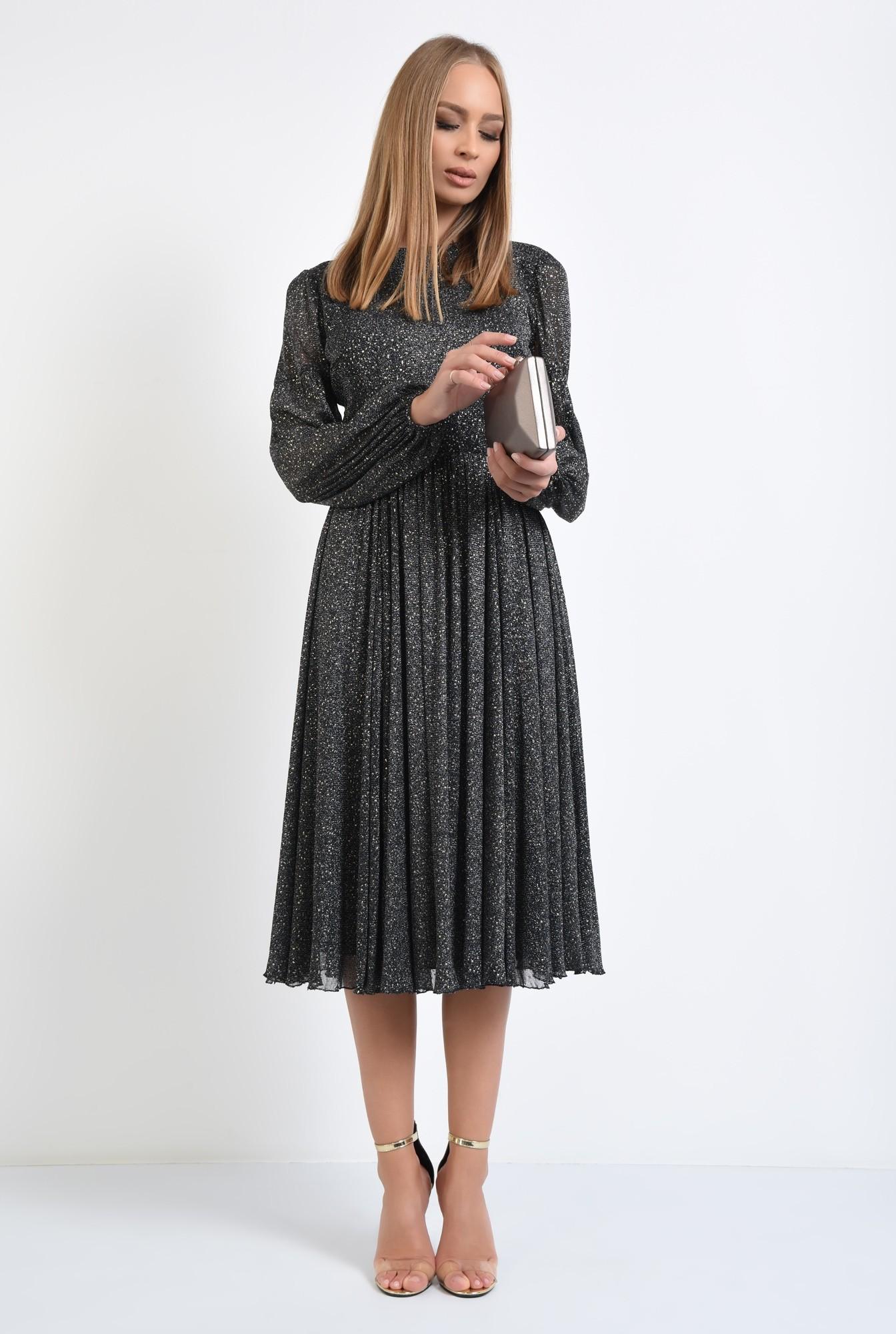 3 - rochie de seara, detalii aurii, rochii online, croi clos